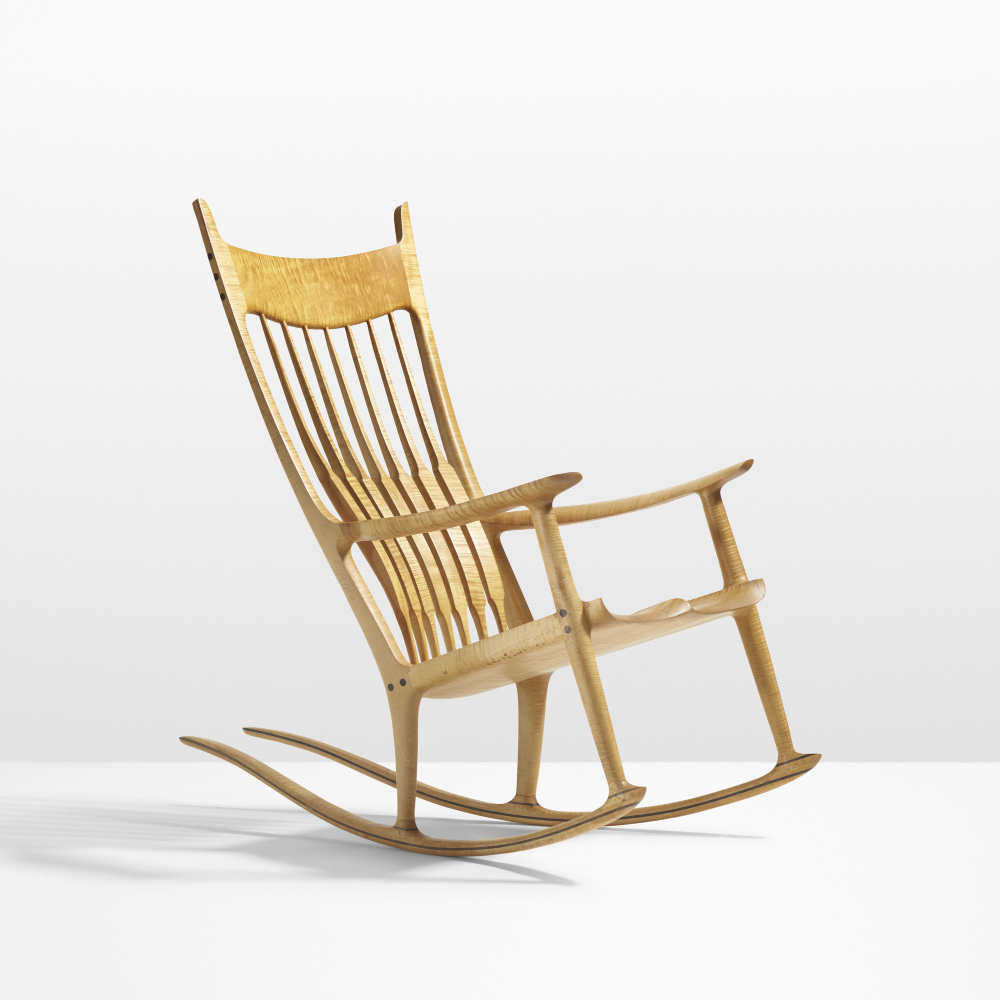 38 sam maloof exceptional rocking chair - Rocking chair but ...