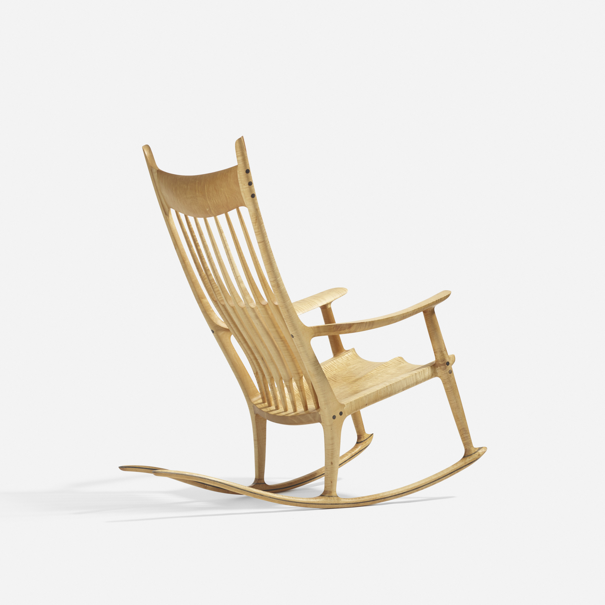 38: Sam Maloof / Exceptional rocking chair (2 of 4)