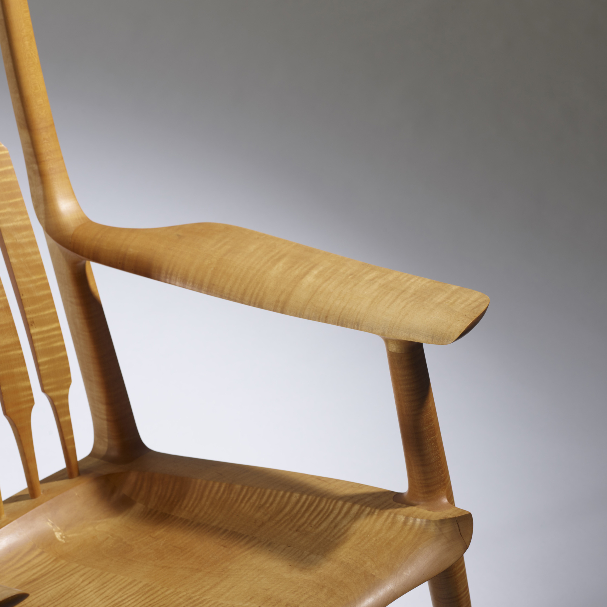 Awesome ... 38: Sam Maloof / Exceptional Rocking Chair (3 Of 4)