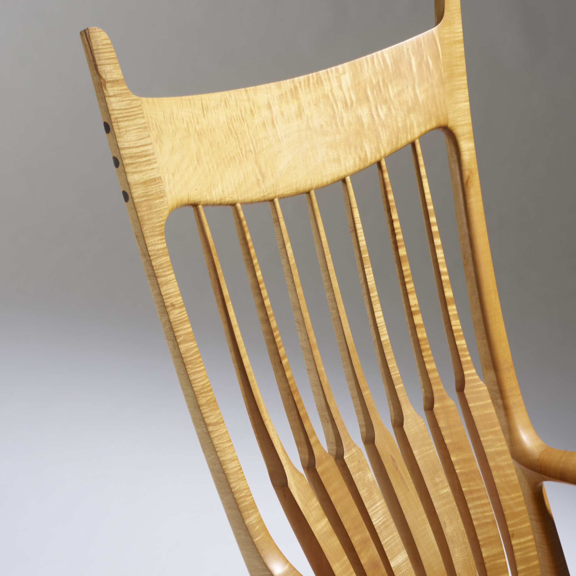38: Sam Maloof / Exceptional rocking chair (4 of 4)