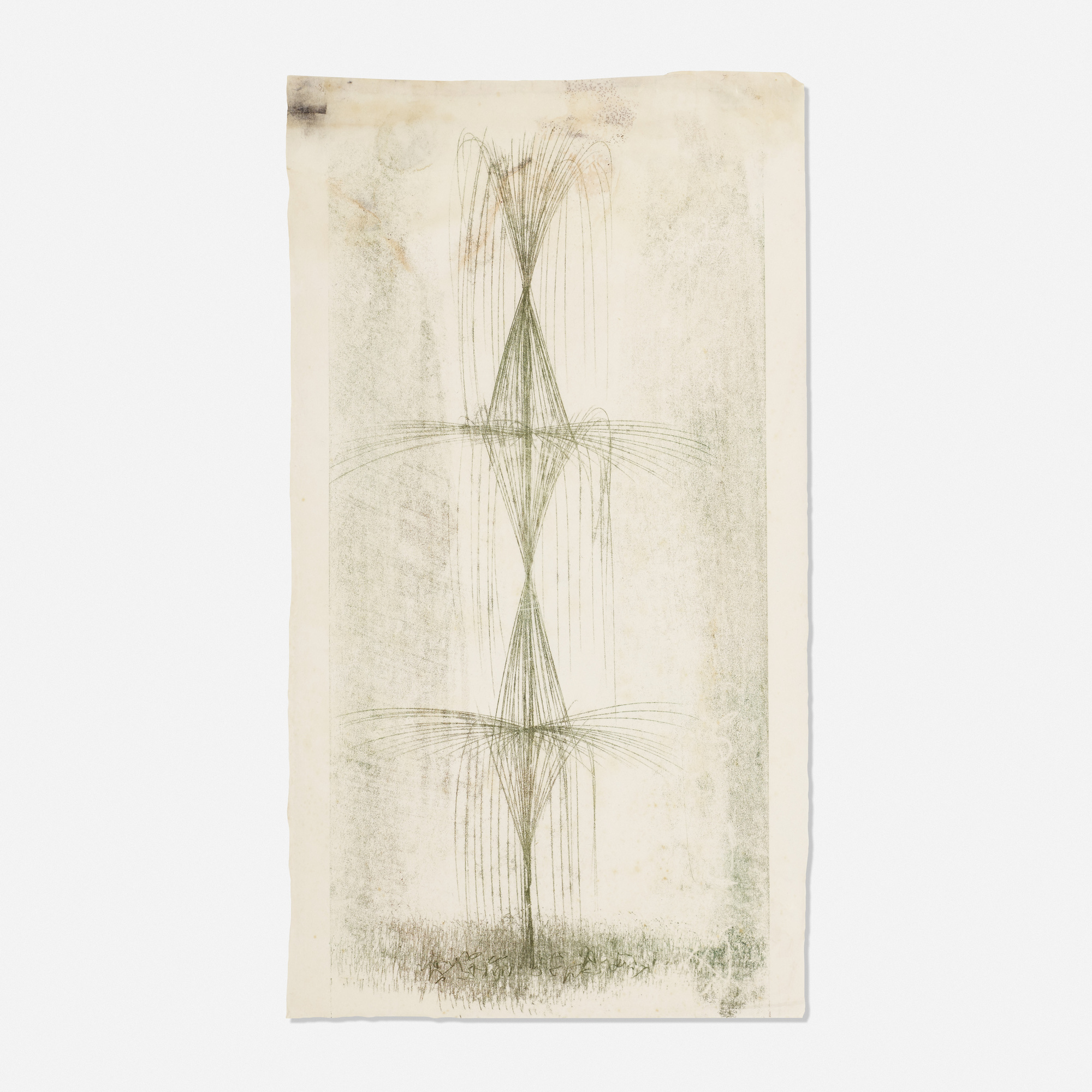 391: Harry Bertoia / Untitled (study for the Standard Oil commission) (1 of 1)