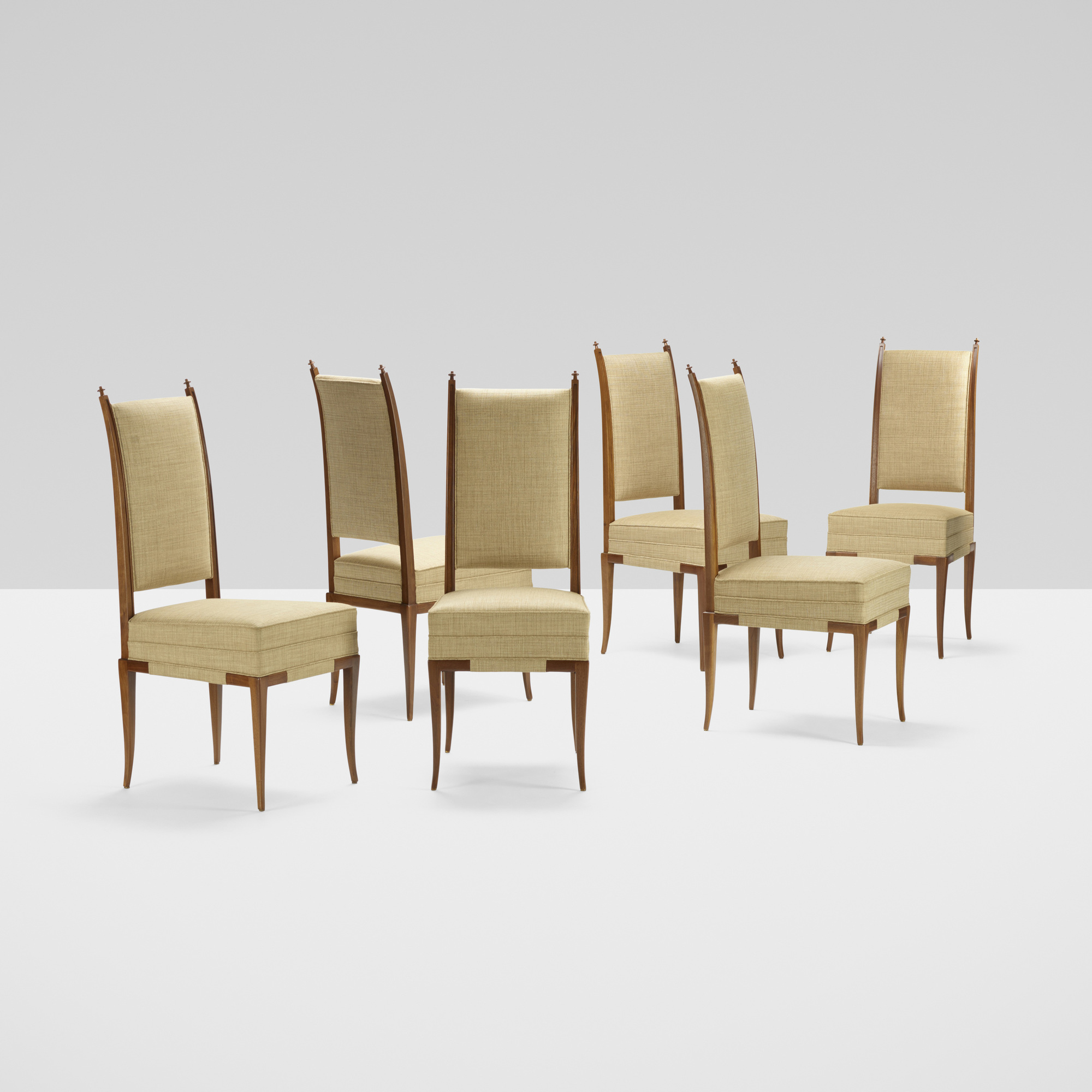 391: Tommi Parzinger / chairs, set of six (2 of 2)