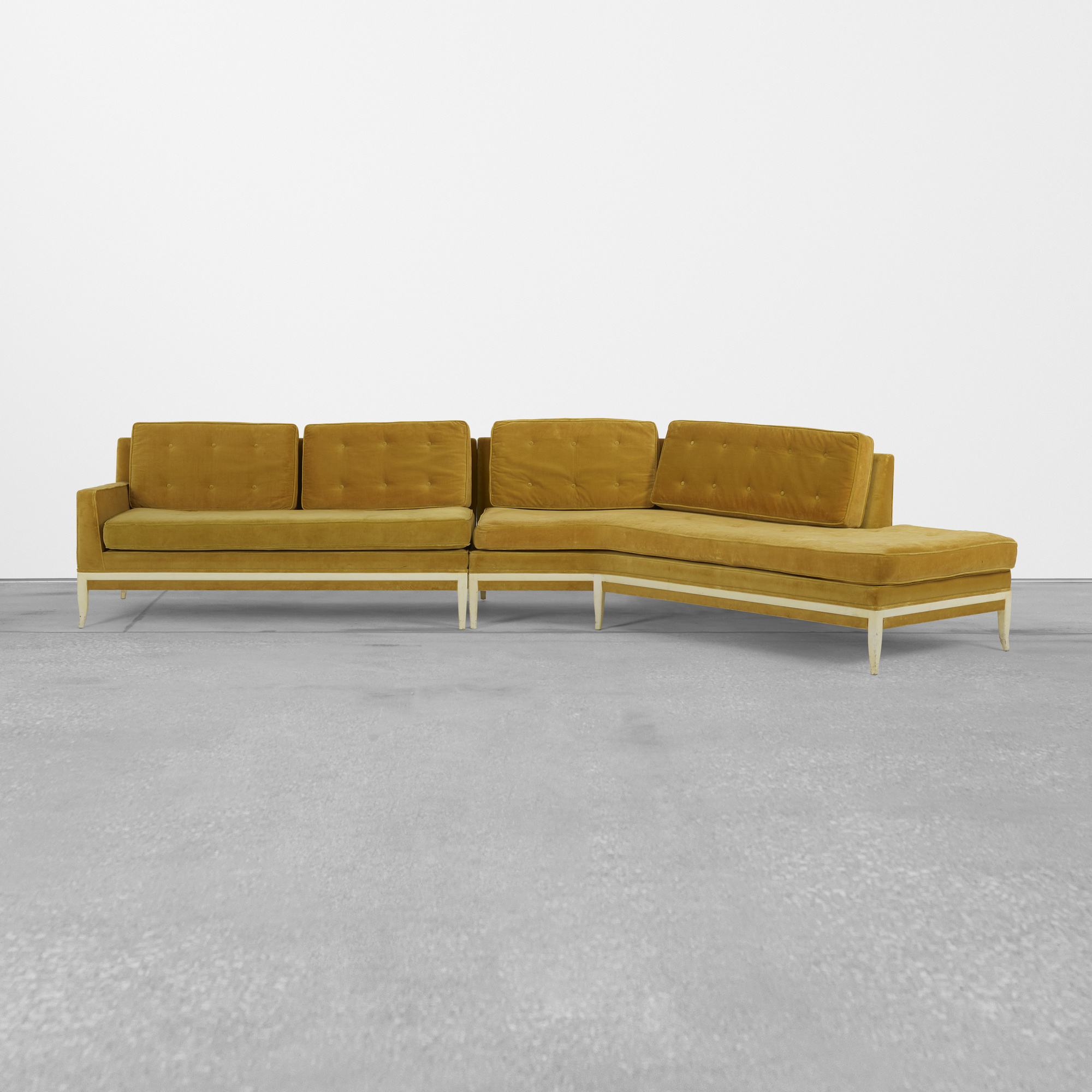 392: Tommi Parzinger / sectional sofa (1 of 3)