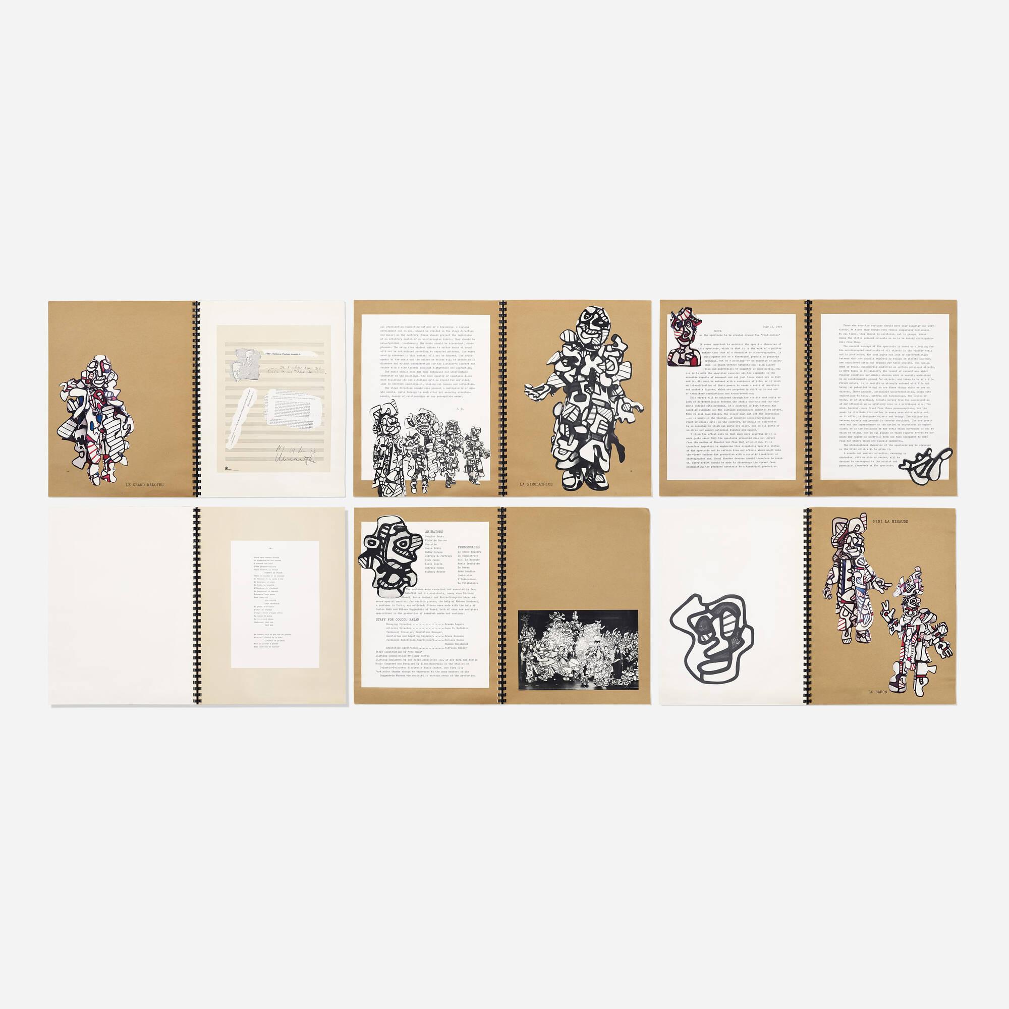 392: Jean Dubuffet / Coucou Bazar program (1 of 2)