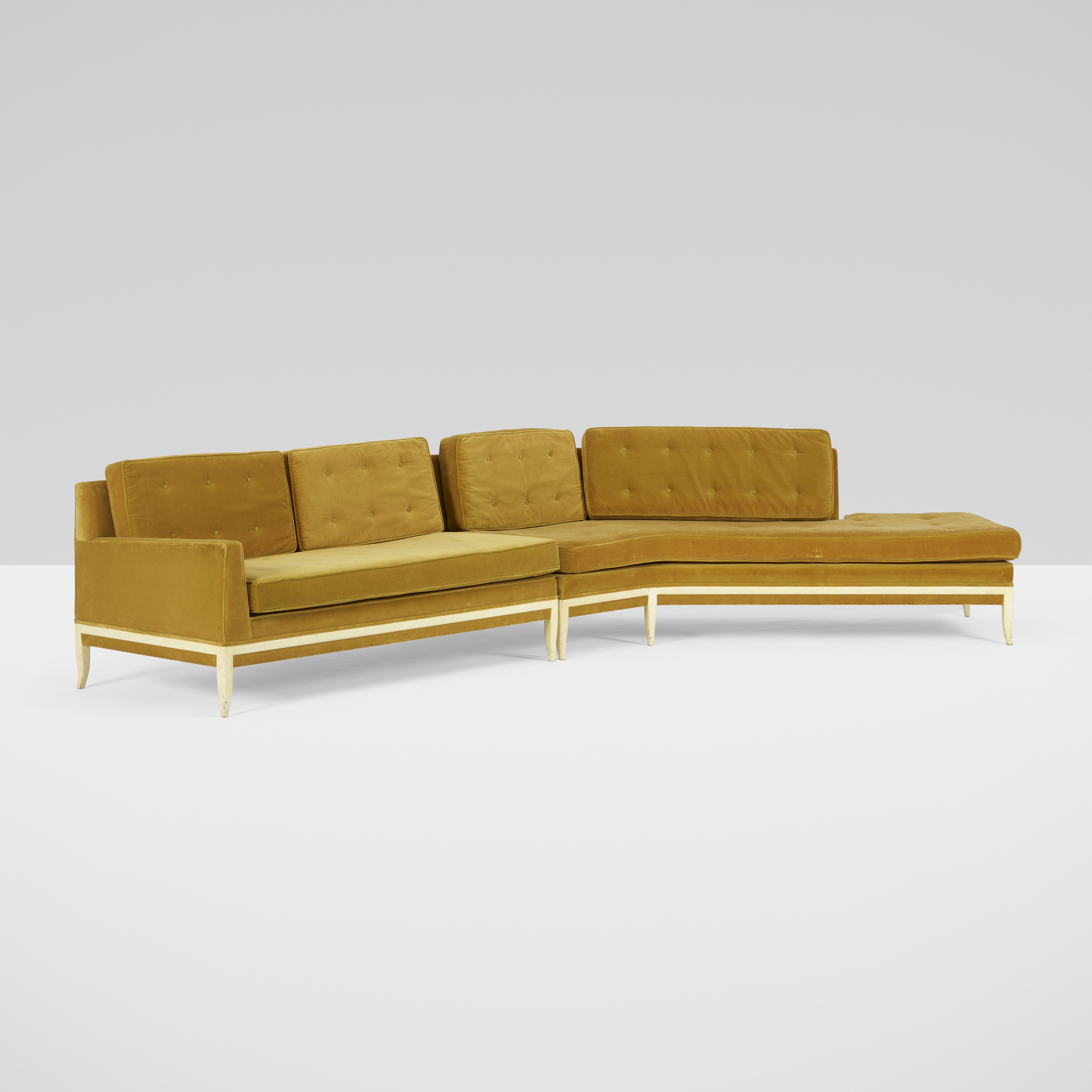 392: Tommi Parzinger / sectional sofa (2 of 3)