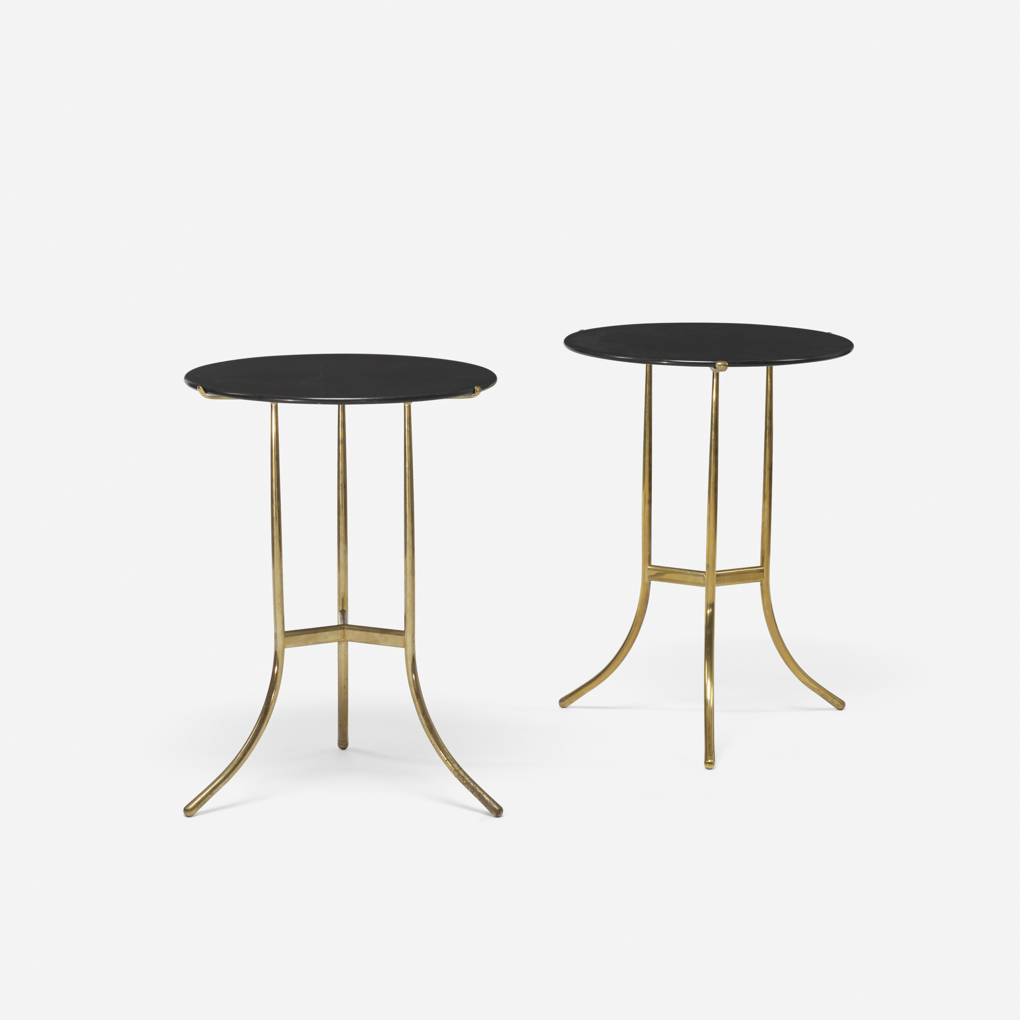 393: Cedric Hartman / occasional tables, pair (2 of 3)