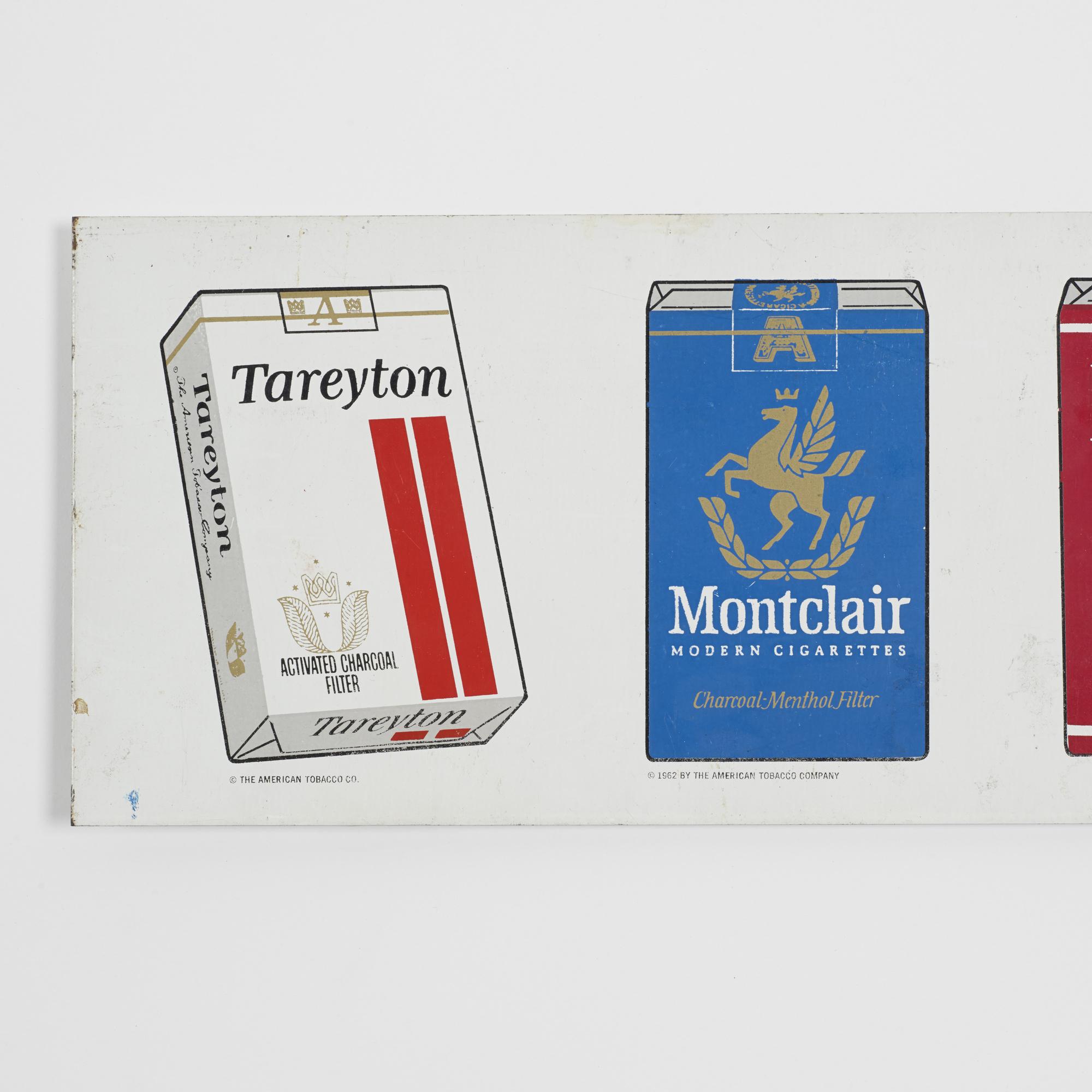 394: American Tobacco Company / cigarette sign (3 of 3)