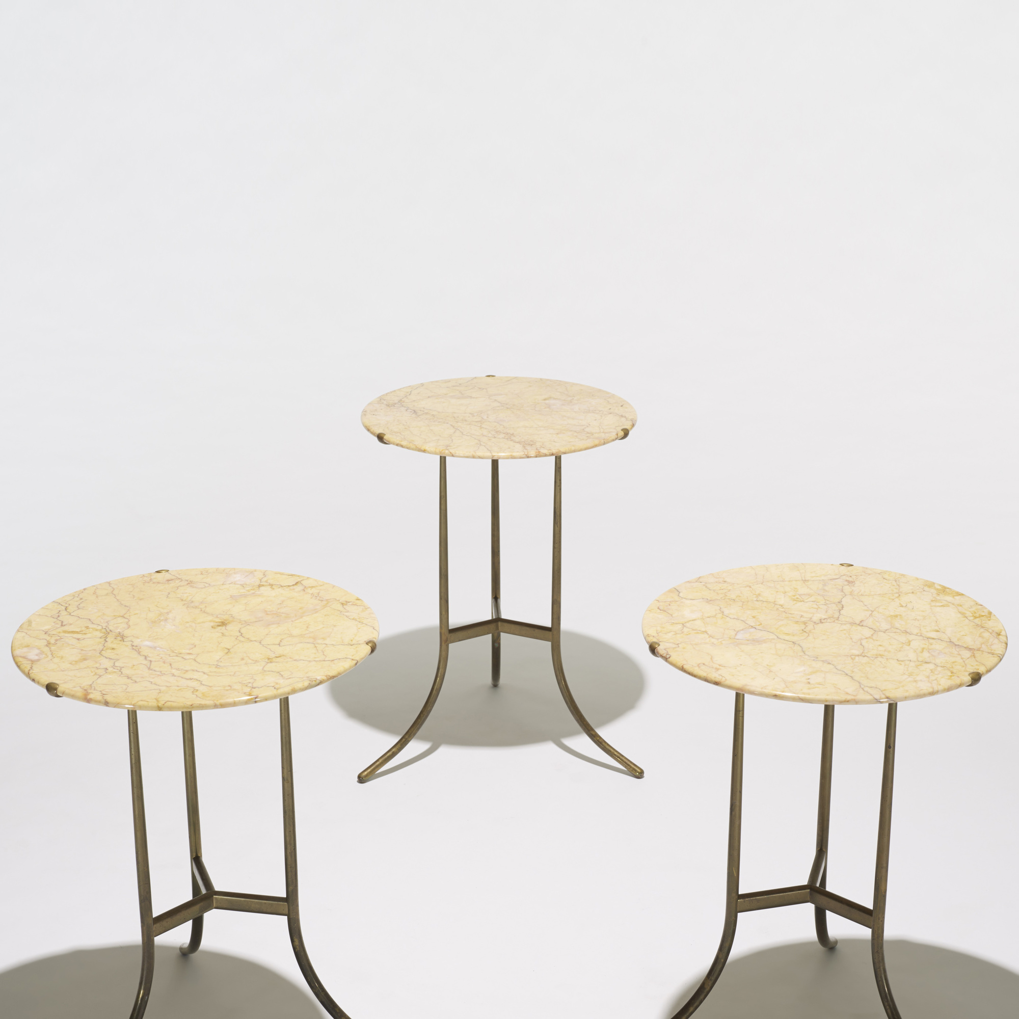 396: Cedric Hartman / occasional tables, set of three (2 of 4)