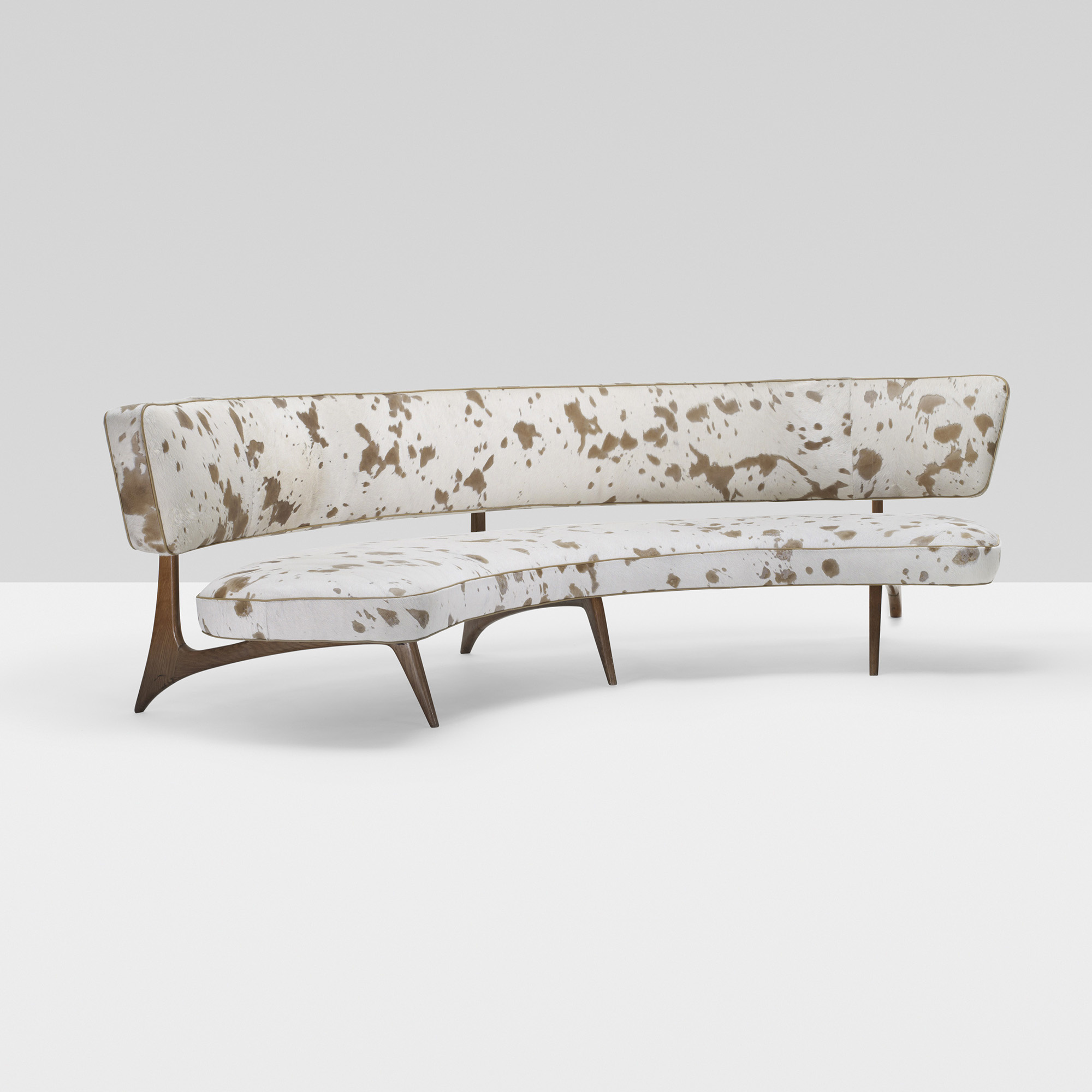 397 Vladimir Kagan Floating Curve Sofa 1 Of 4