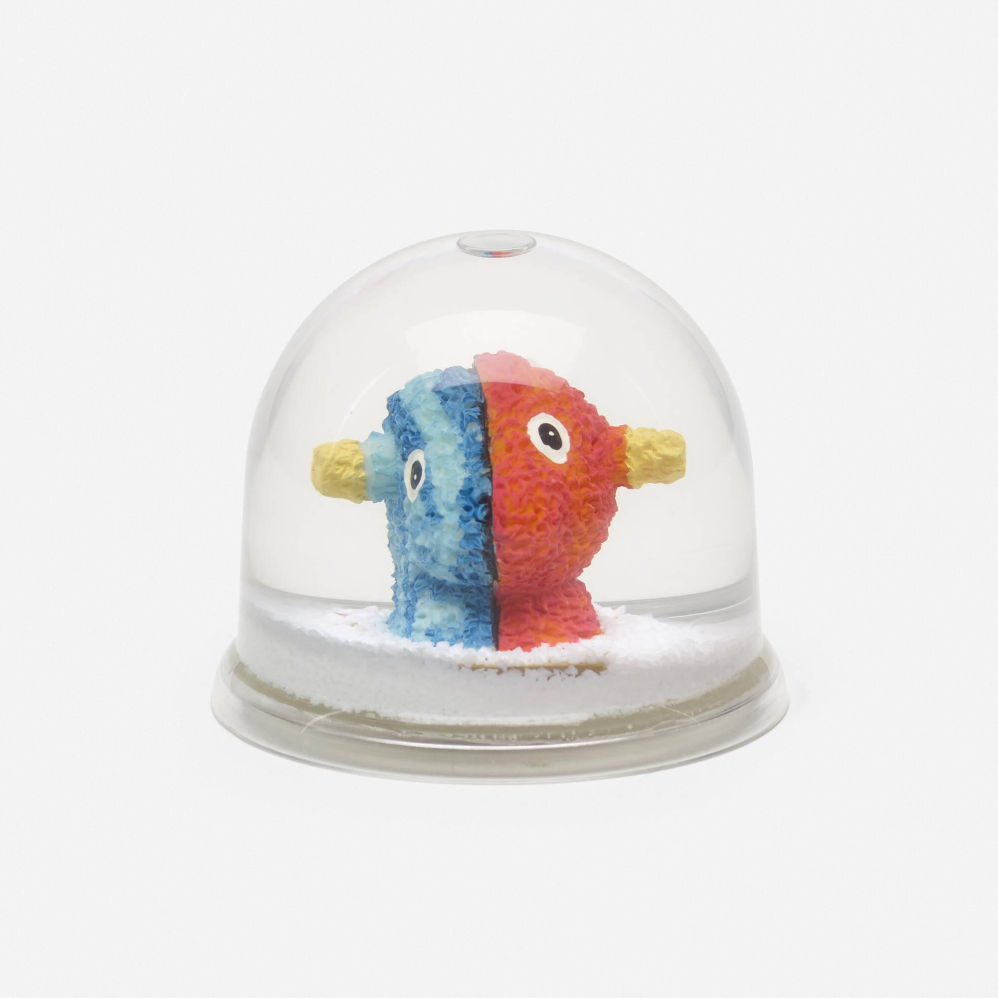 399: Jeff Koons / Split Rocker snow globe (1 of 2)
