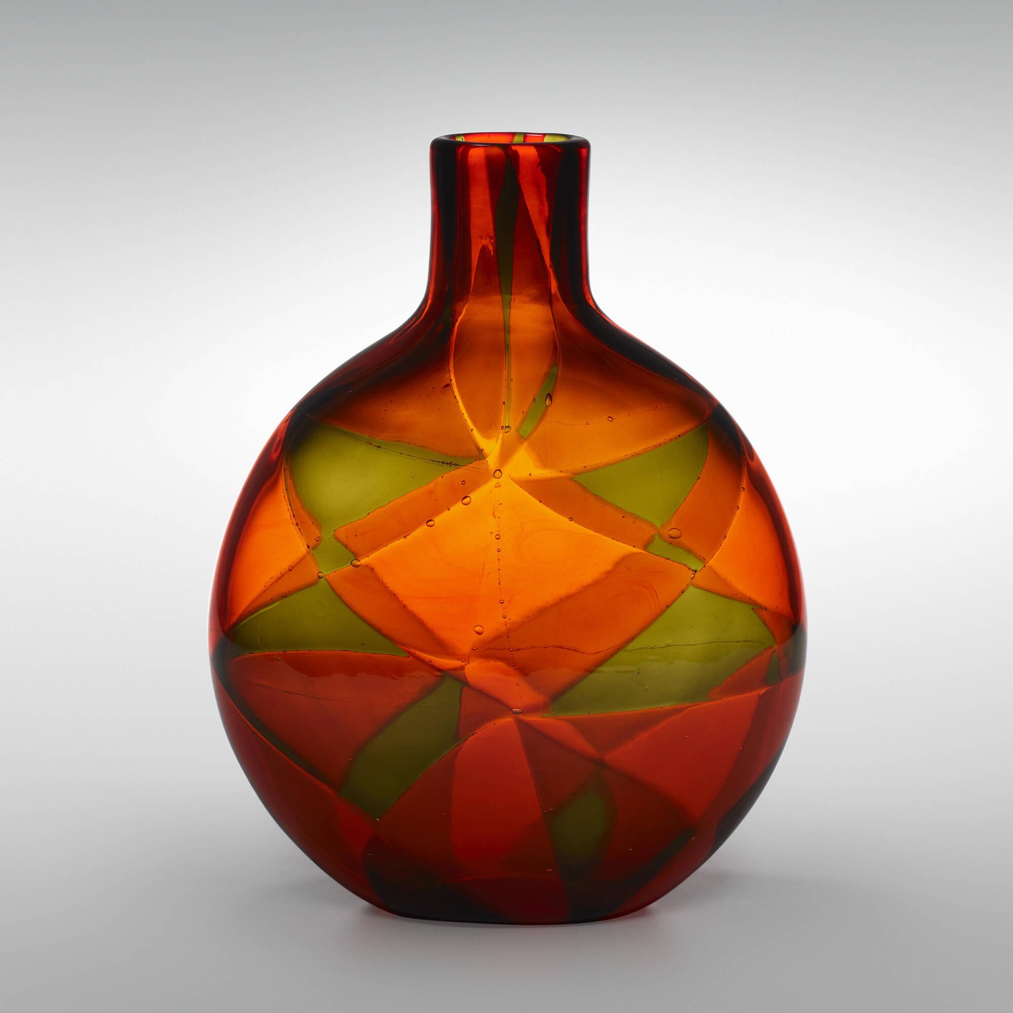 39: Ercole Barovier / Rare Intarsio vase (2 of 4)