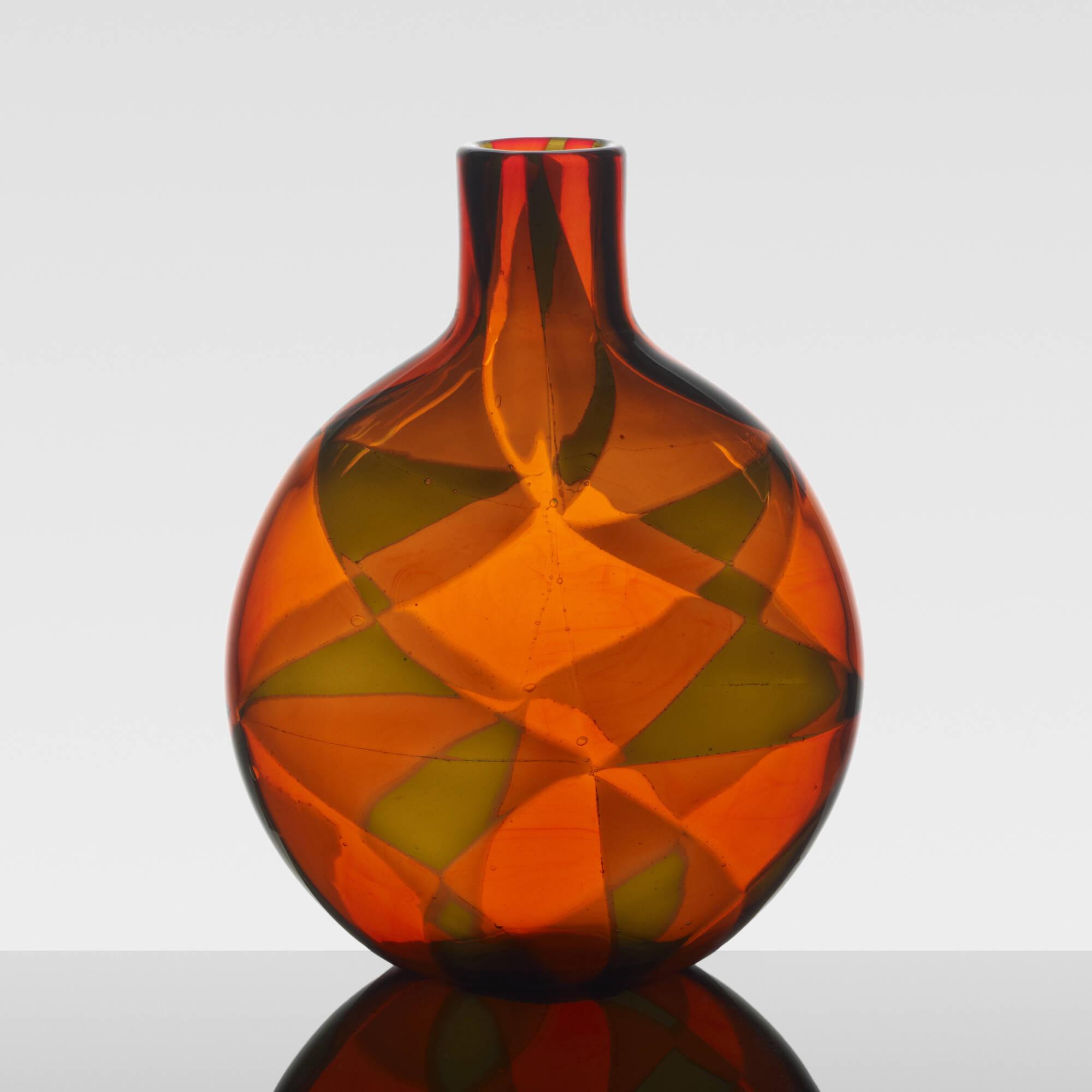 39: Ercole Barovier / Rare Intarsio vase (3 of 4)