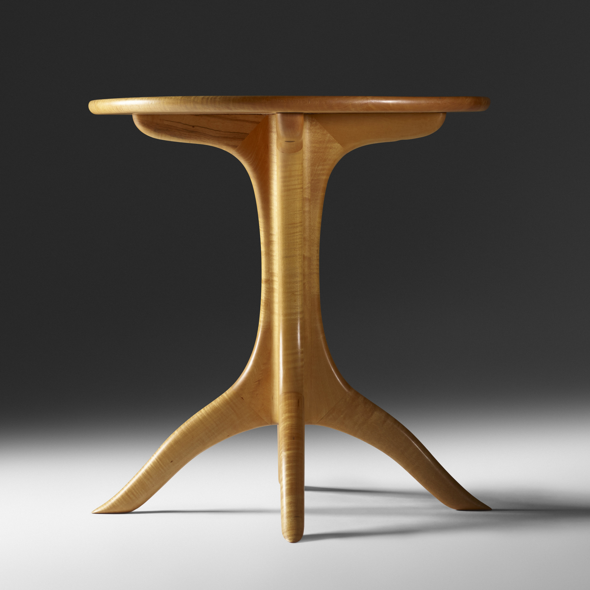 39: Sam Maloof / Pedestal table (2 of 4)