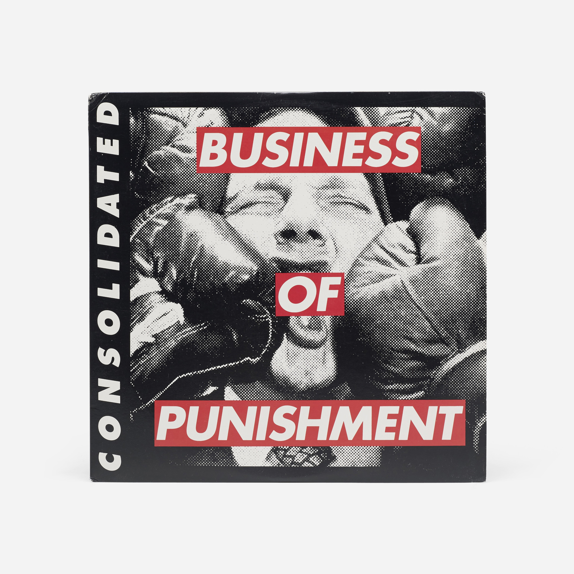 403: Barbara Kruger / Consolidated/Business of Punishment LP (1 of 1)