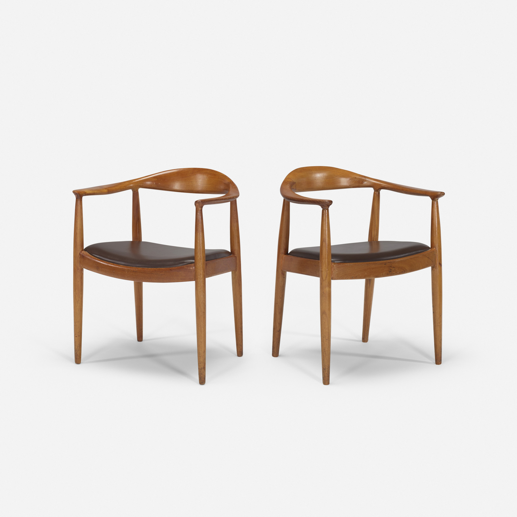 404: After Hans J. Wegner / The Chairs from the mezzanine of the Grill Room, pair (1 of 1)