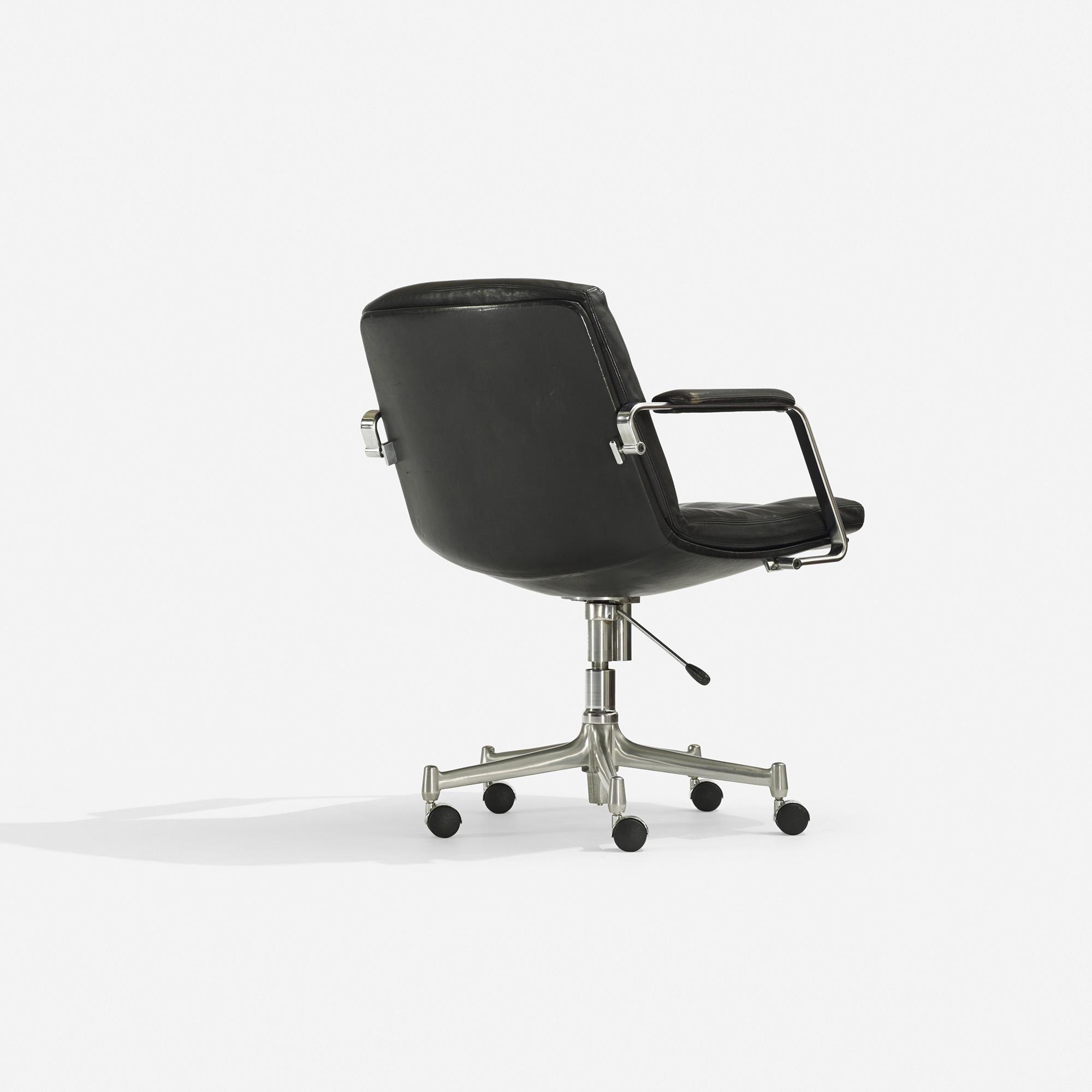 404 Preben Fabricius And Jørgen Kastholm Desk Chair 2 Of 4