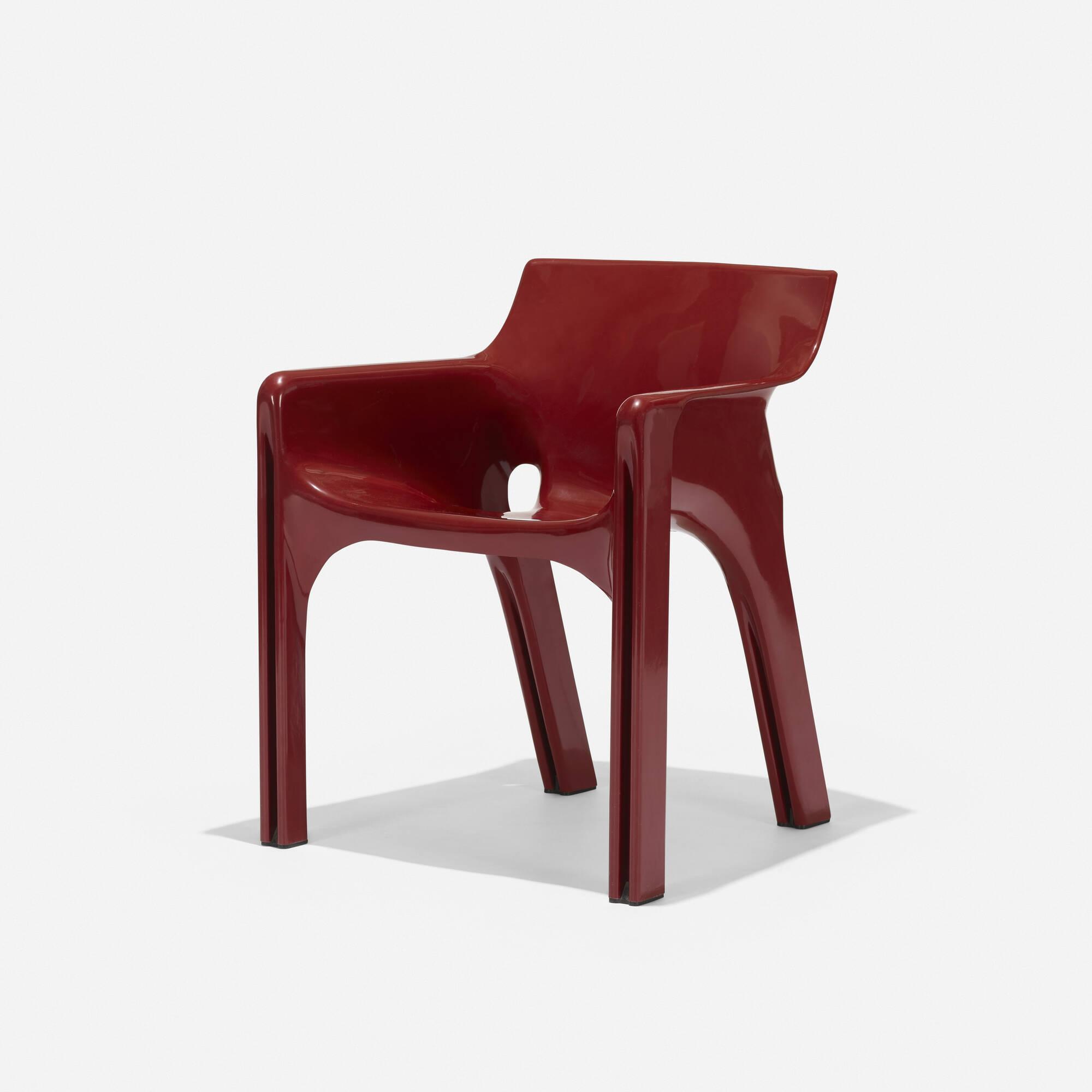 406: Vico Magistretti / Gaudi chair (1 of 4)