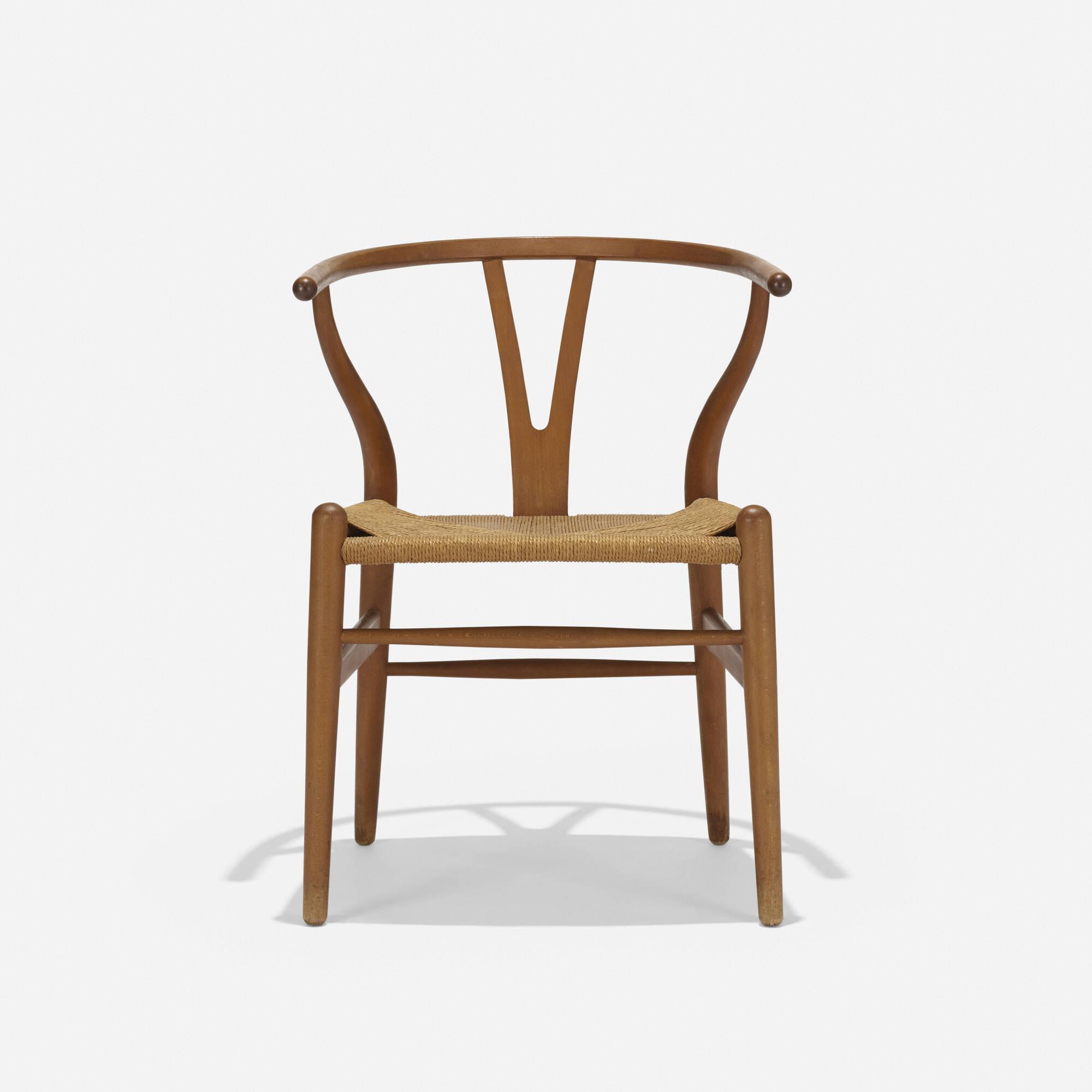 407: Hans J. Wegner / Wishbone Chair, model CH24 (1 of 3)
