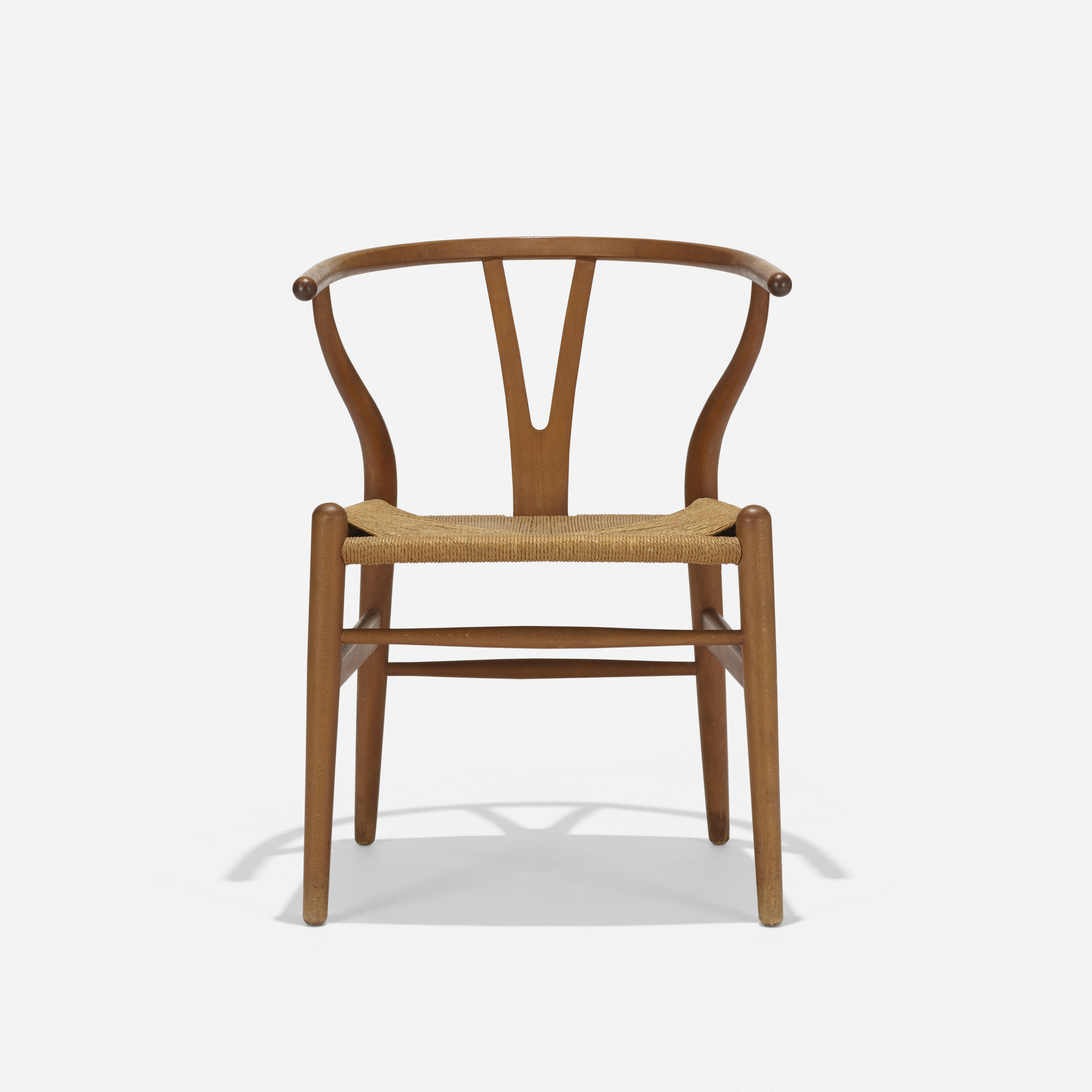 407: Hans J. Wegner / Wishbone Chair, model CH24 (1 of 3)