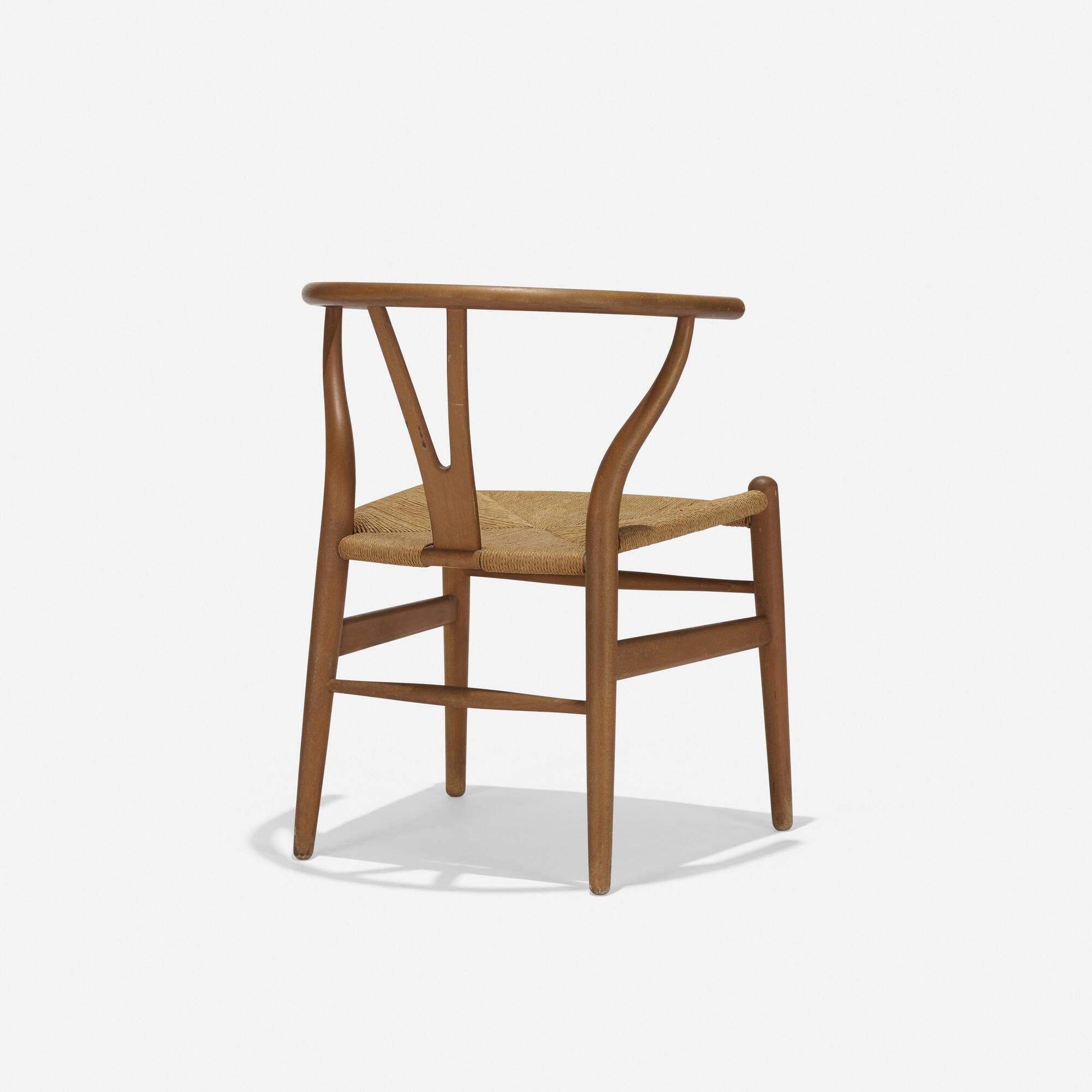 407 hans j wegner wishbone chair model ch24 2 of 3
