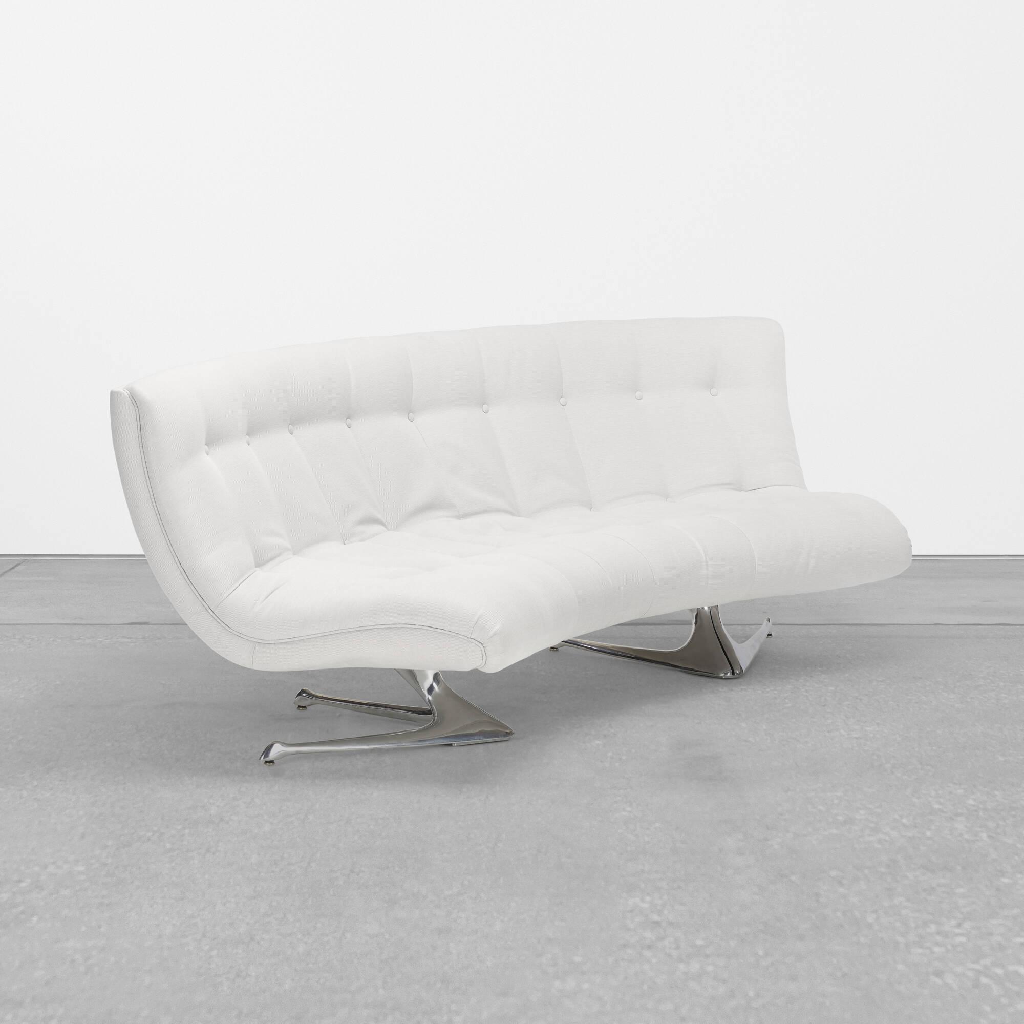 408: Vladimir Kagan / Unicorn Sofa (1 Of 4)