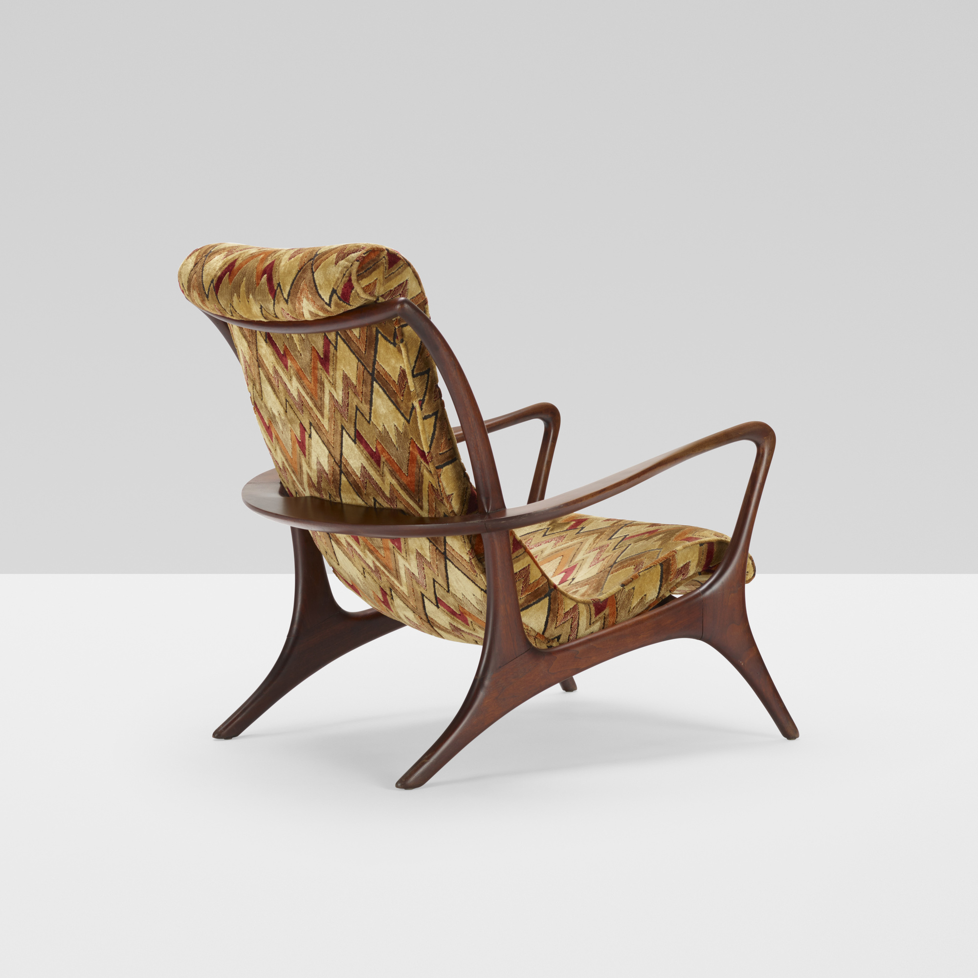 409: Vladimir Kagan / High Back Sculptured Contoured chair (1 of 3)