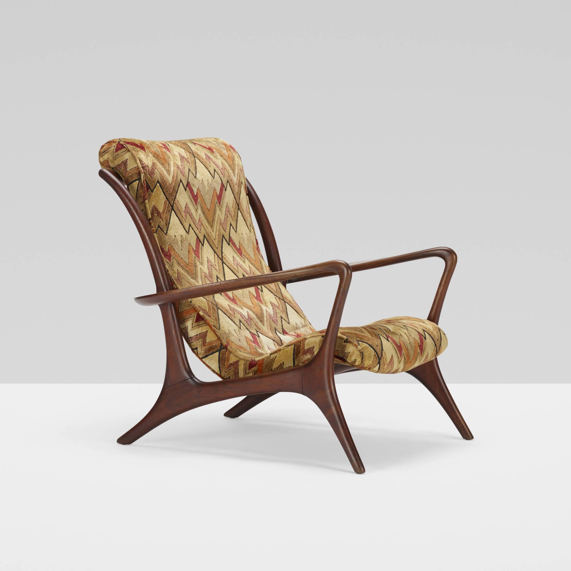 409: Vladimir Kagan / High Back Sculptured Contoured chair (3 of 3)