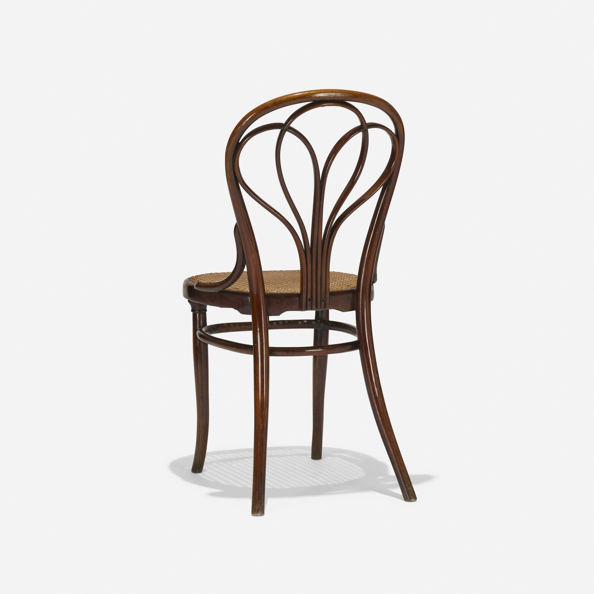 410: Gebrüder Thonet / chair, model no. 25 (1 of 3)