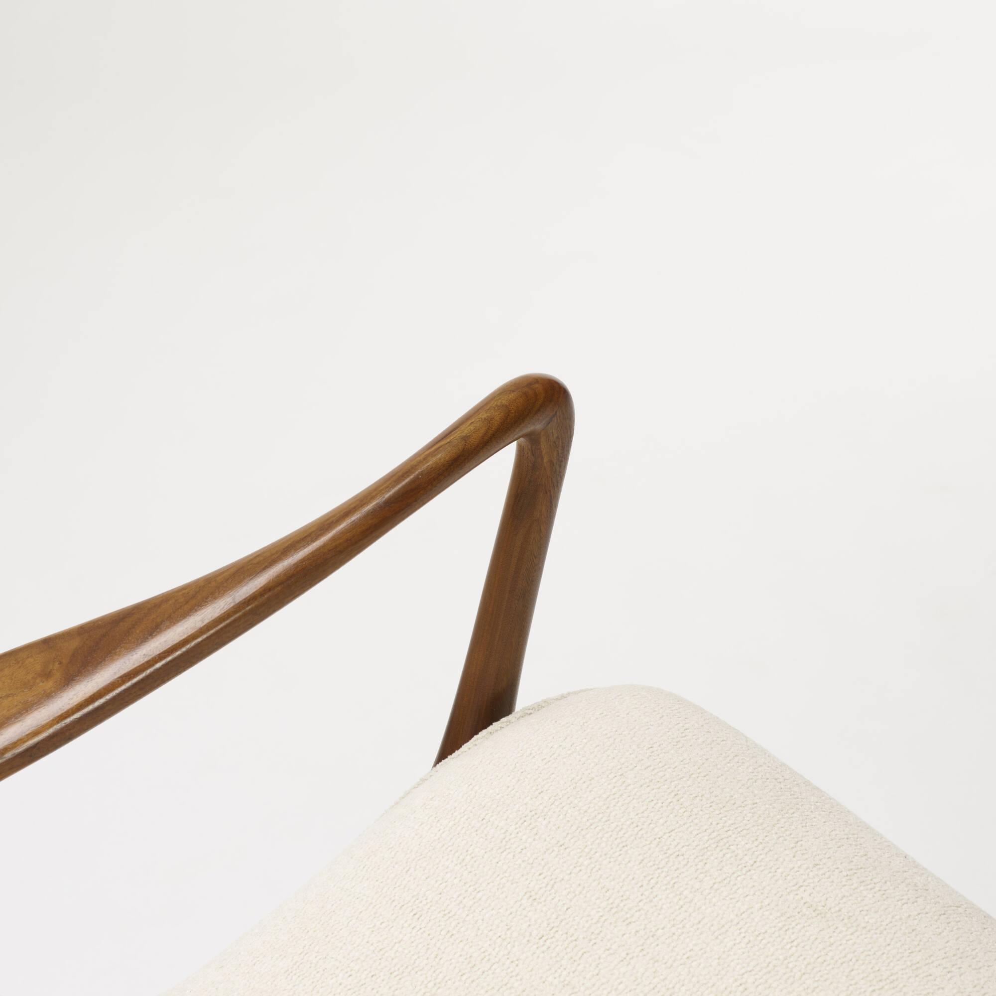 410: Vladimir Kagan / Contour lounge chairs, pair (4 of 4)