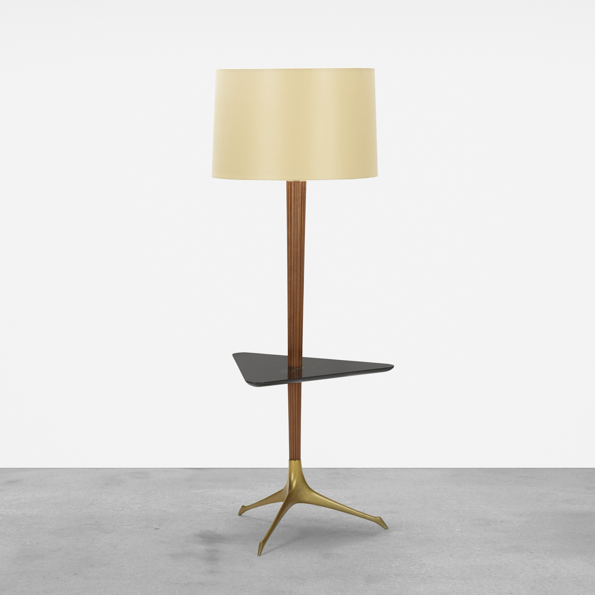 411: Vladimir Kagan / Tri-symmetric lamp table (1 of 3)