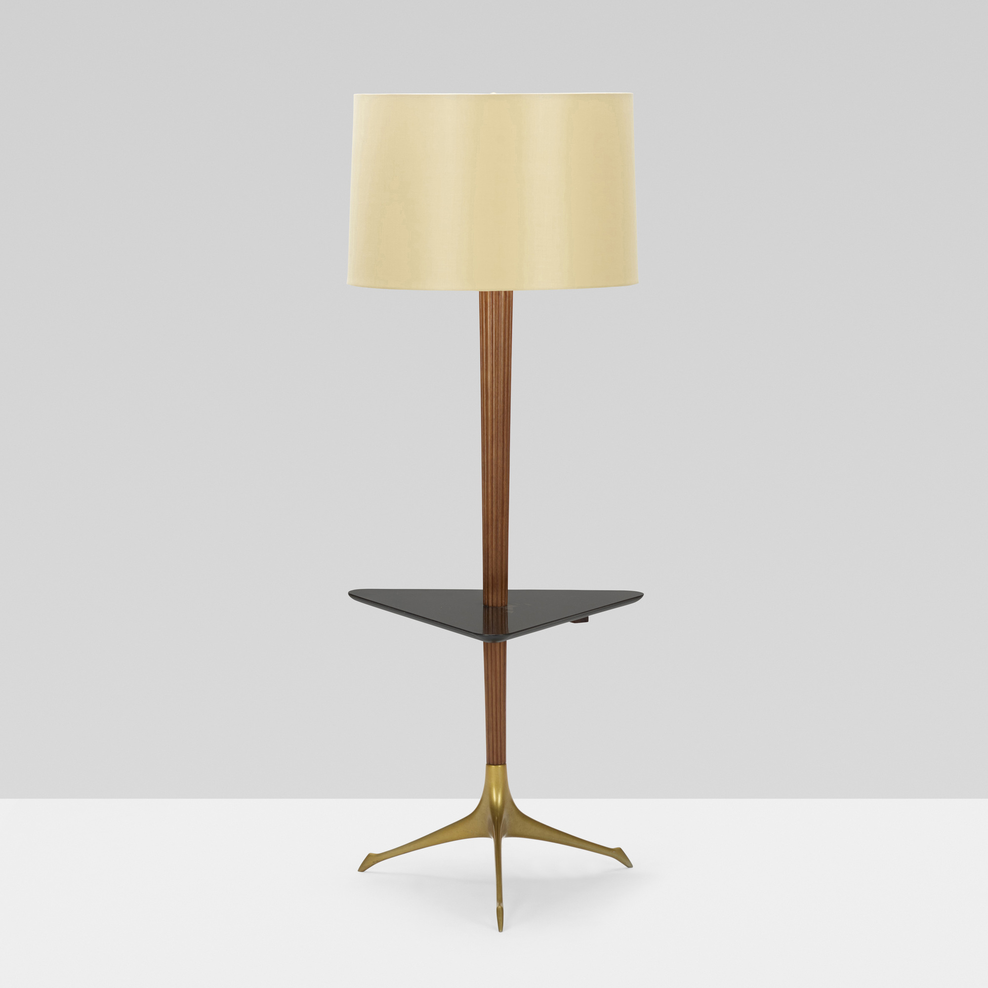 411: Vladimir Kagan / Tri-symmetric lamp table (2 of 3)