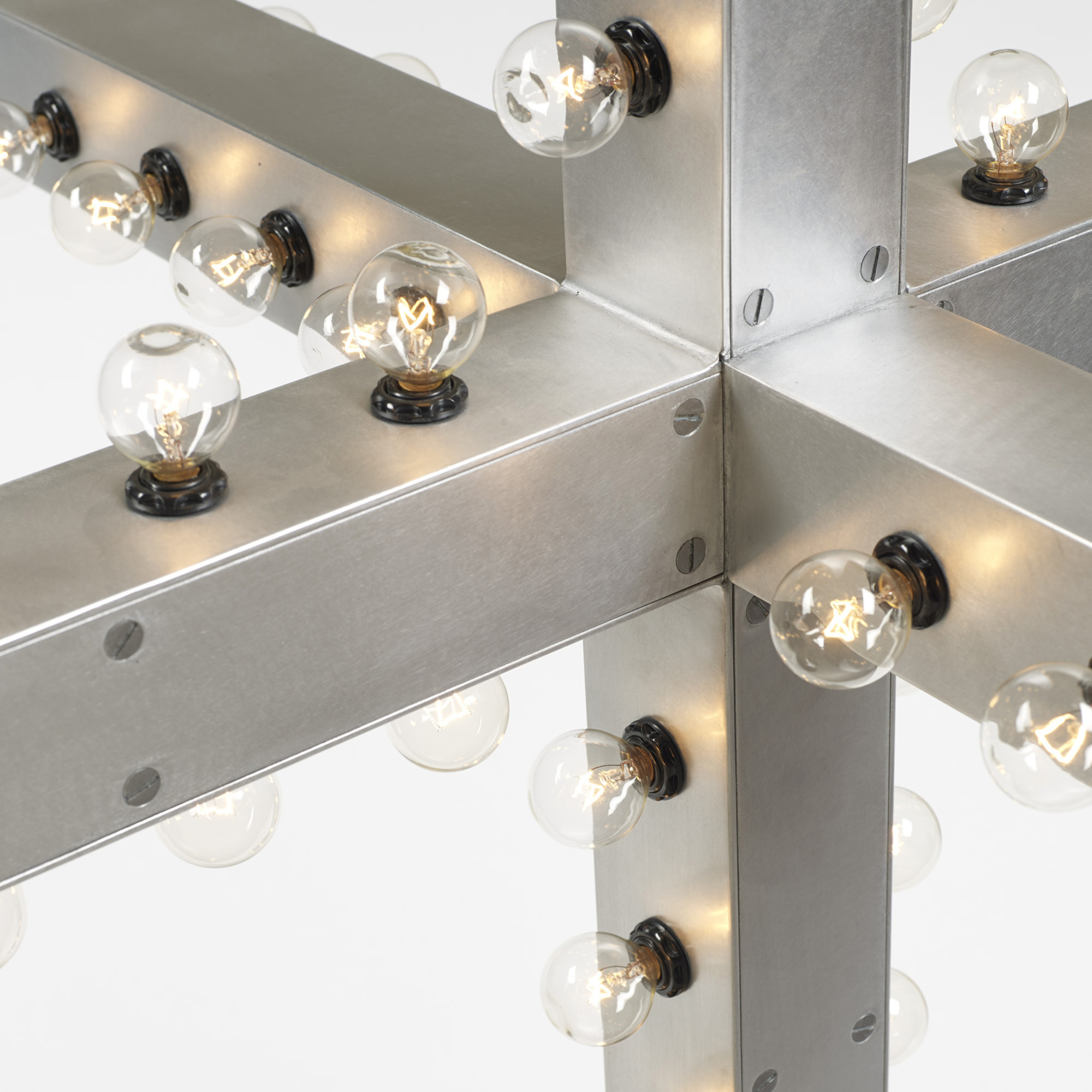 411: Downtown / Intersection chandelier (2 of 2)
