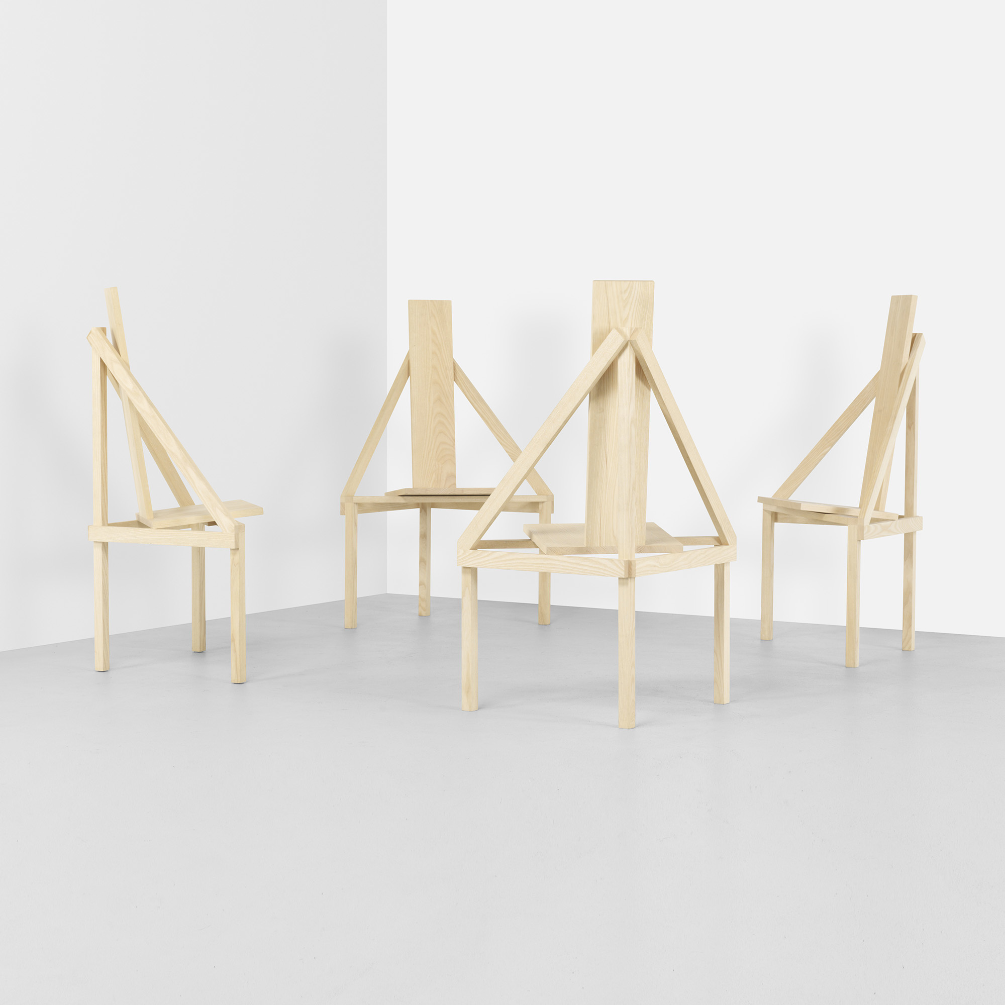 412 Steven Holl A Chairs Set Of Four