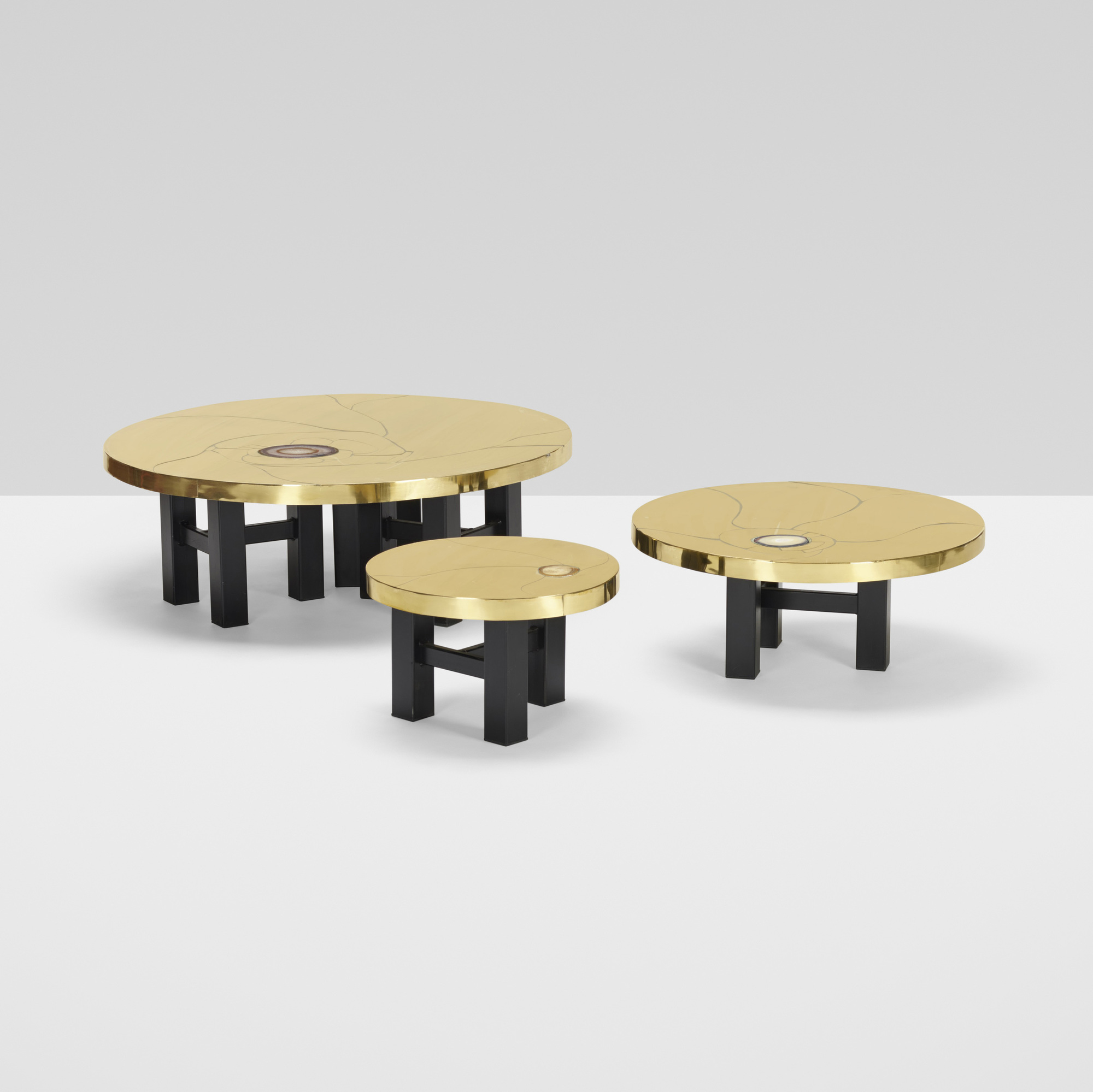 413: Lova Creation / set of three tables (2 of 4)