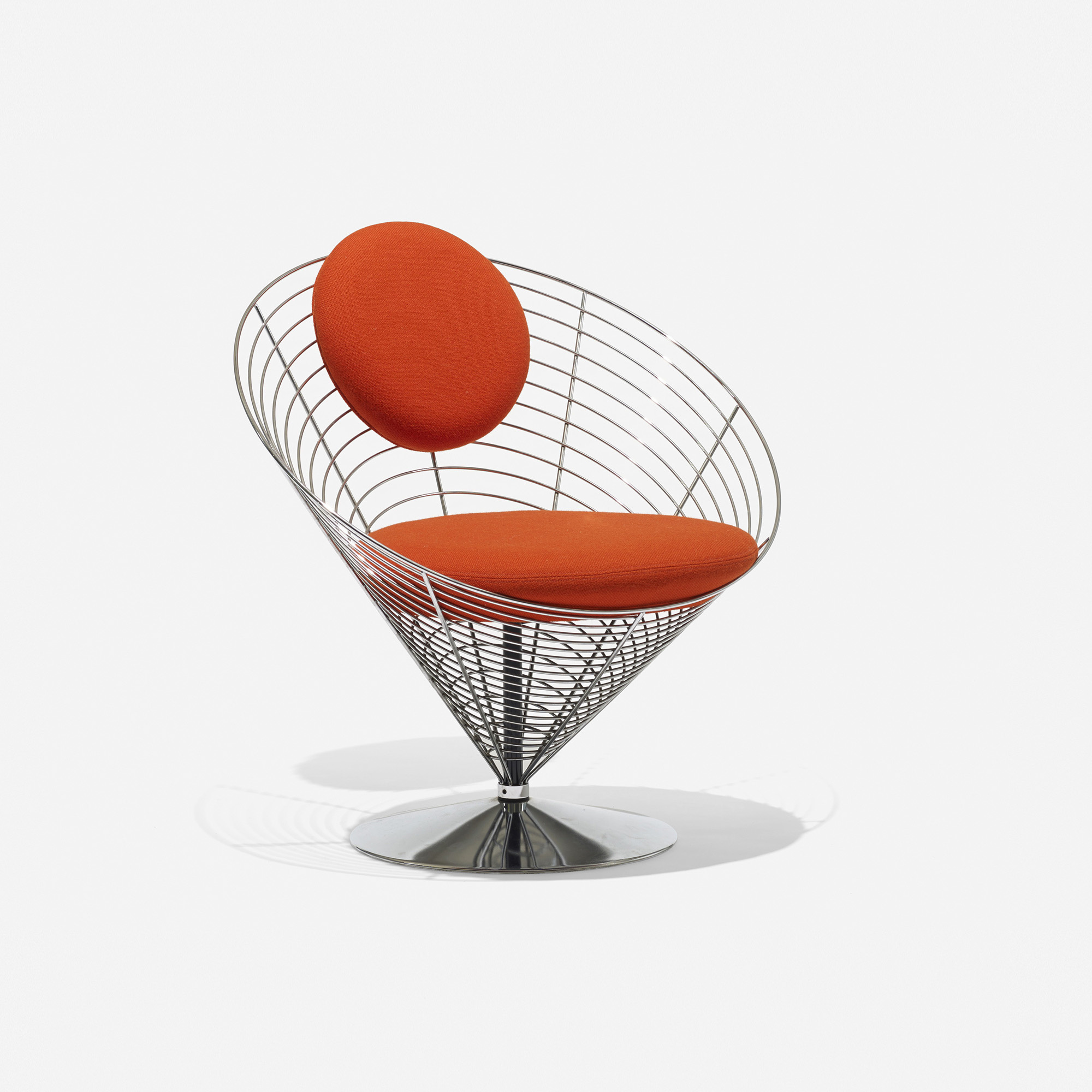 Exceptionnel ... 414: Verner Panton / Cone Chair (3 Of 8)