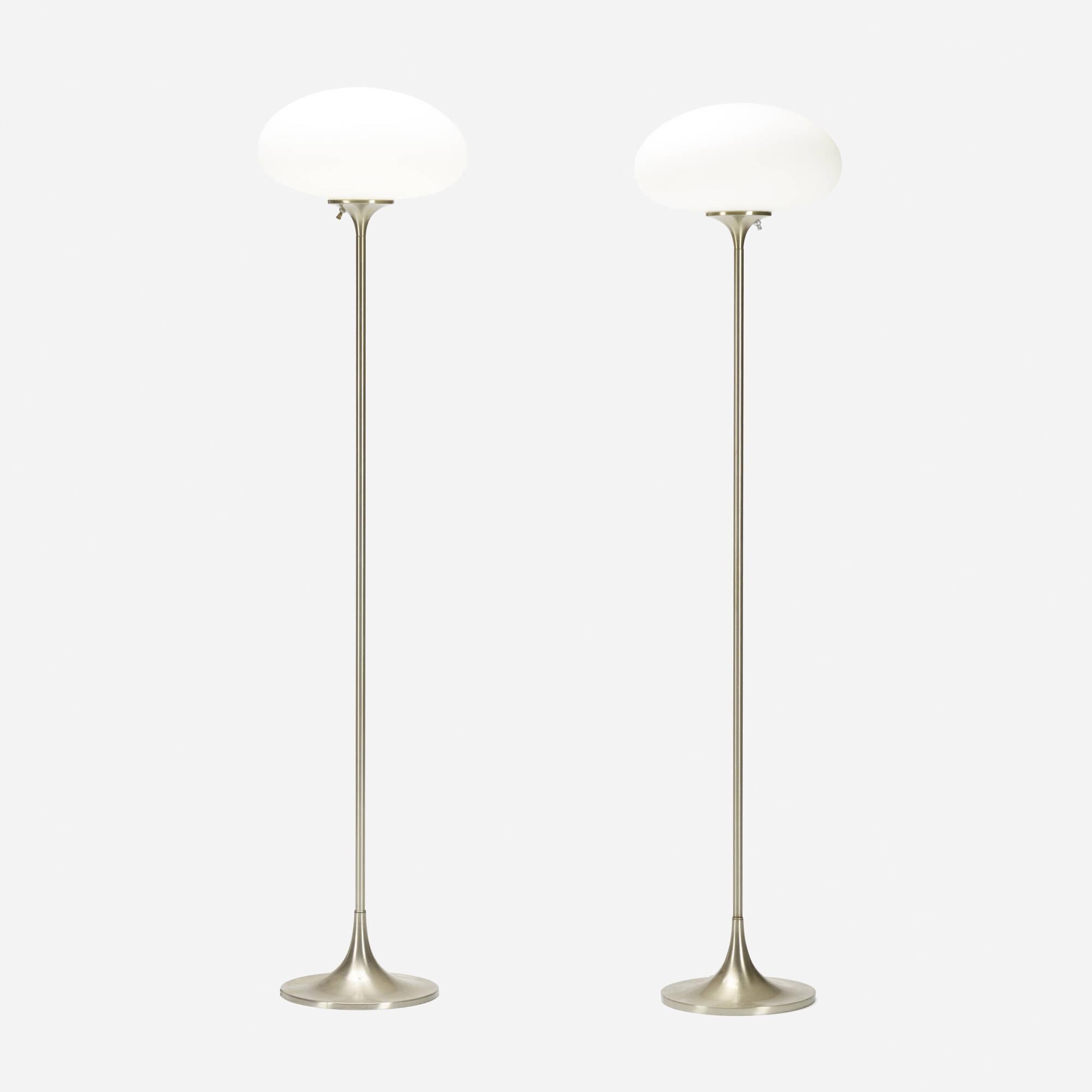 415: Laurel Lamp Co. / floor lamps, pair (1 of 1)