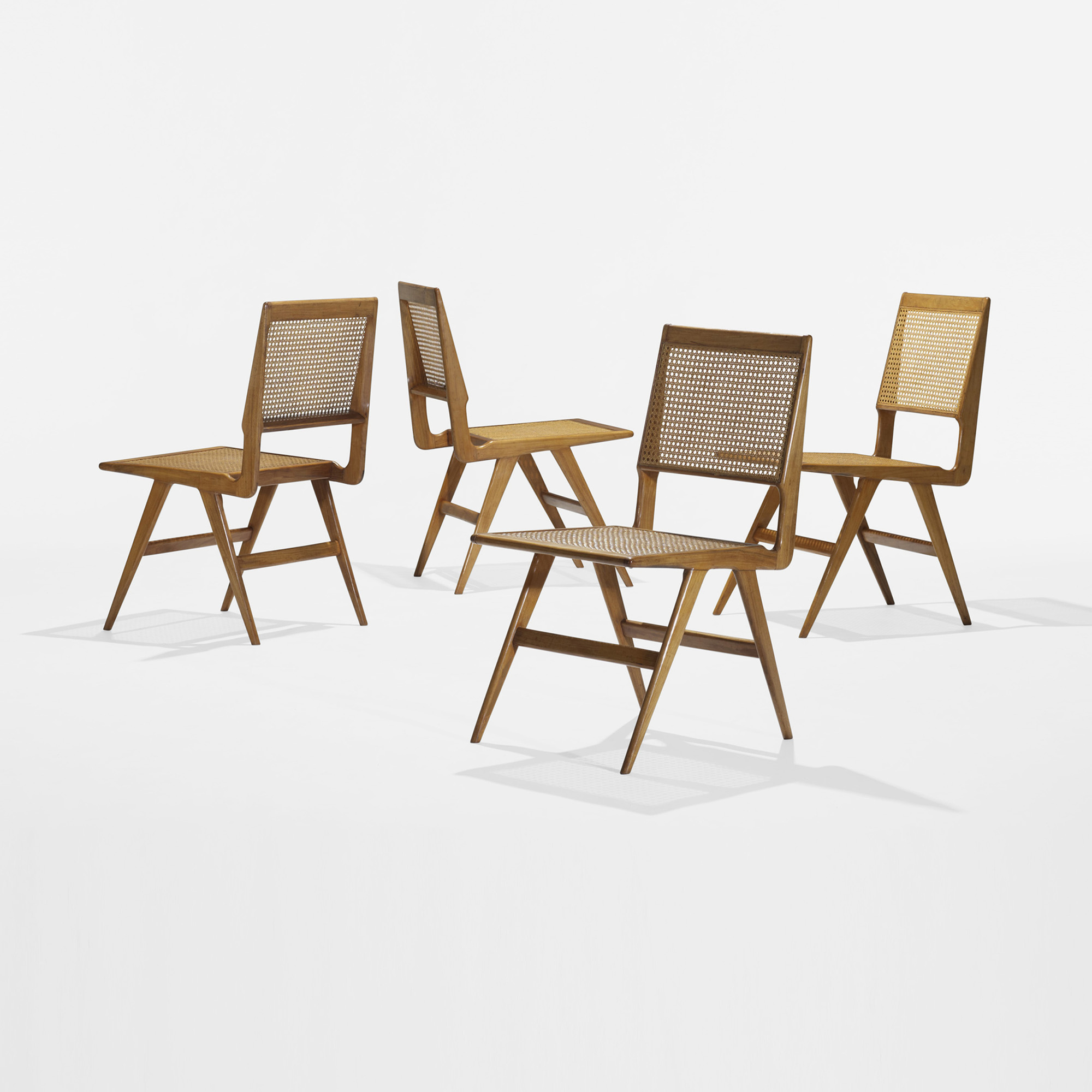 Modern Home Design October 2012: 415: MARTIN EISLER AND CARLO HAUNER, Dining Chairs, Set Of