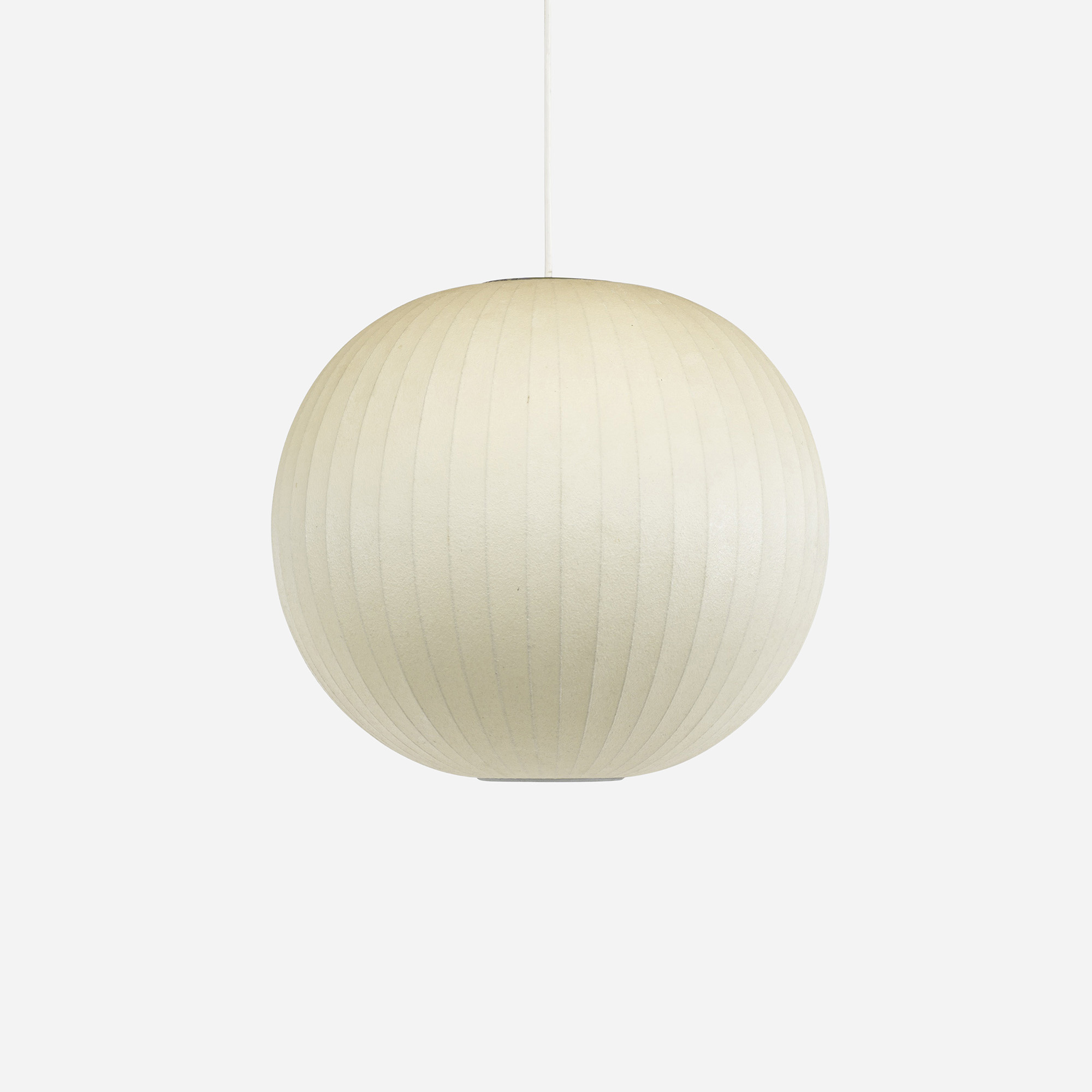 417 george nelson associates bubble hanging lamp 1 of