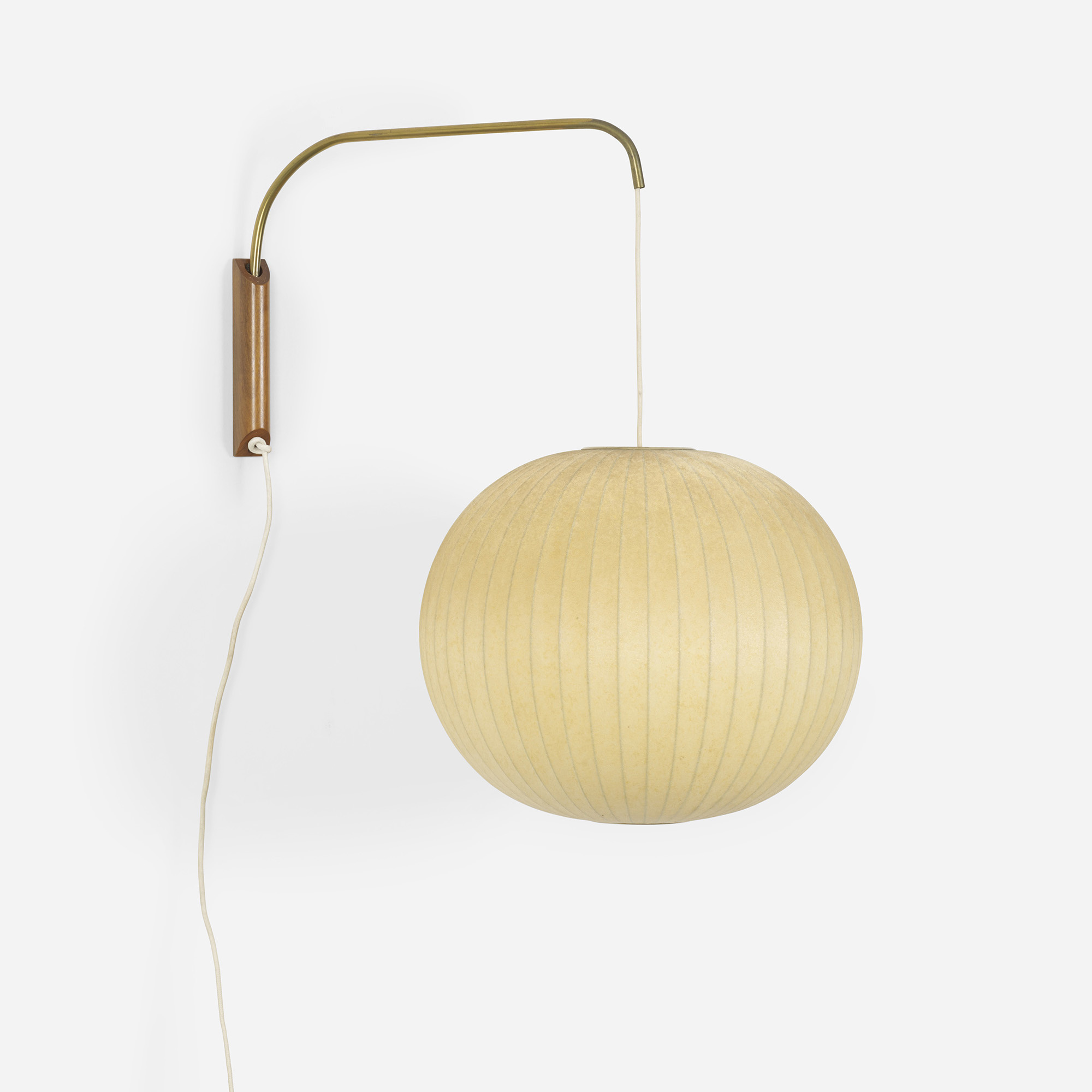 418 george nelson associates bubble wall lamp 1 of