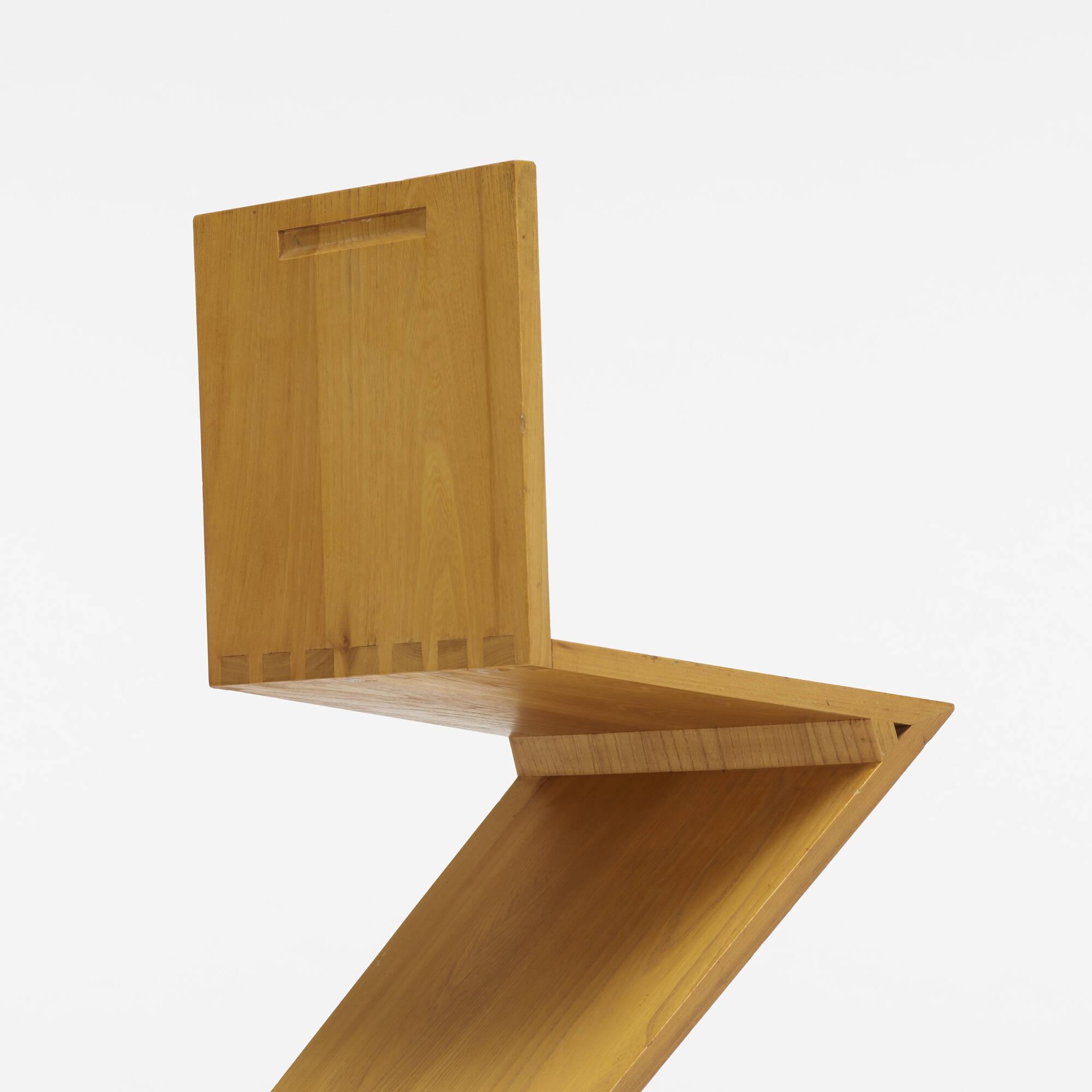 419: Gerrit Rietveld / Zig-Zag chair (3 of 3)