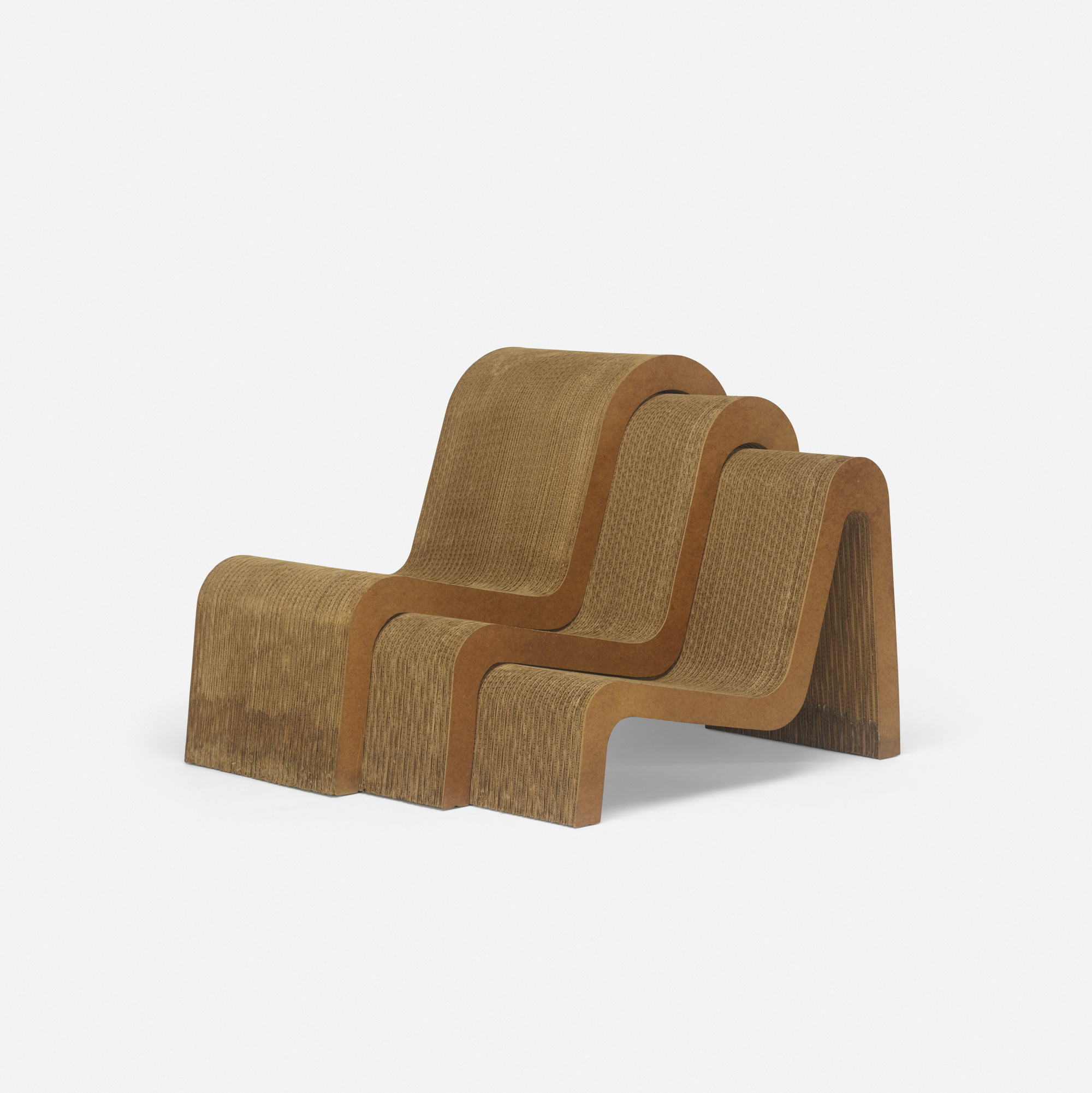 421: Frank Gehry / Nesting Chairs, Set Of Three (1 Of 3)