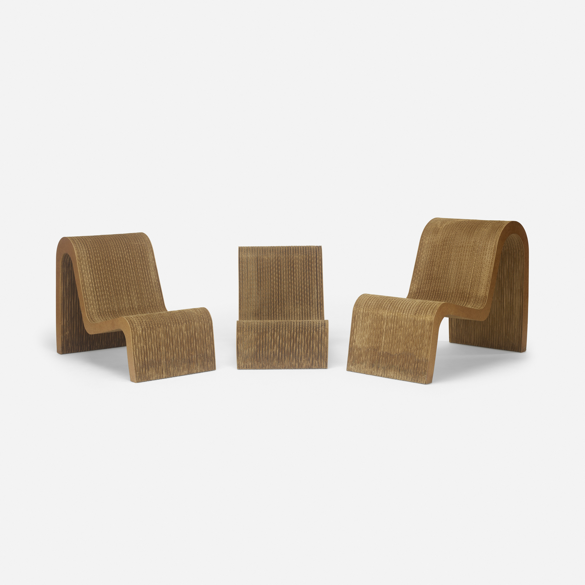 421: Frank Gehry / nesting chairs, set of three (2 of 3)
