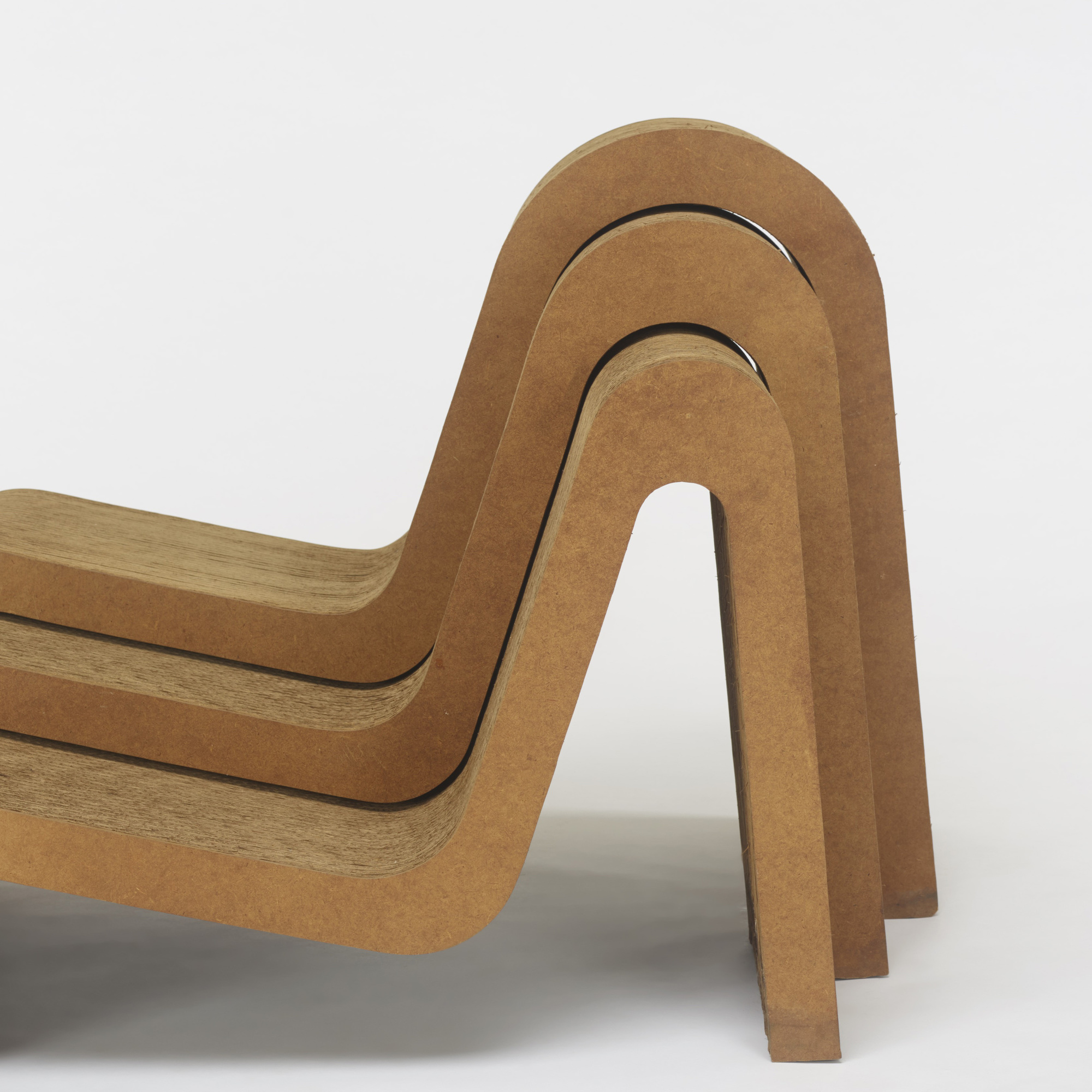 421: Frank Gehry / nesting chairs, set of three (3 of 3)