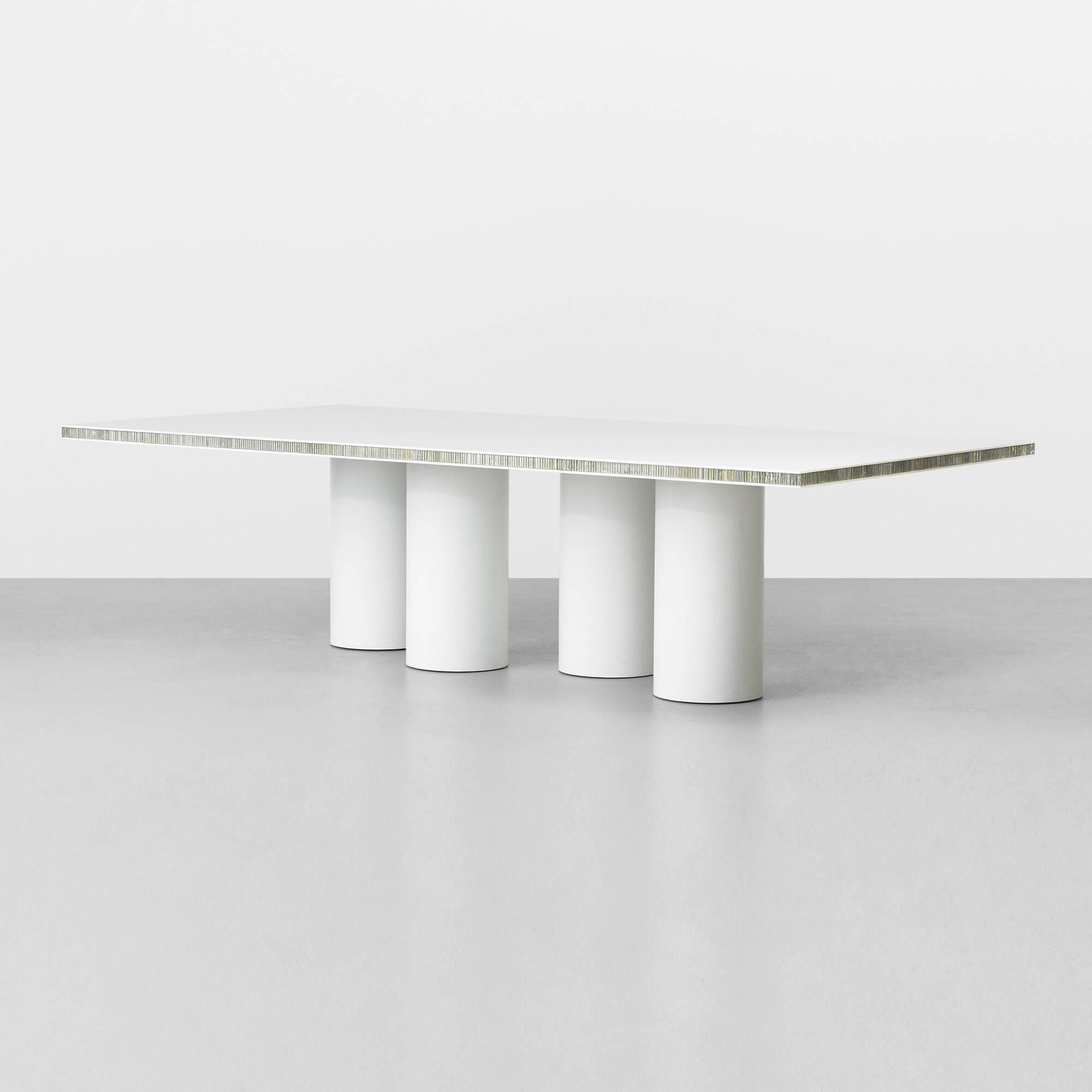 422 martin szekely prototype white table for Table 00 martin szekely