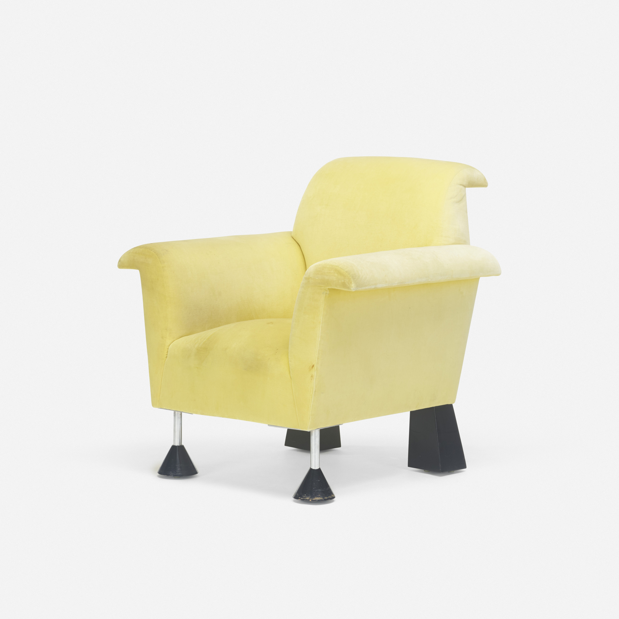 424: Peter Shire / Wexler lounge chair (1 of 2)