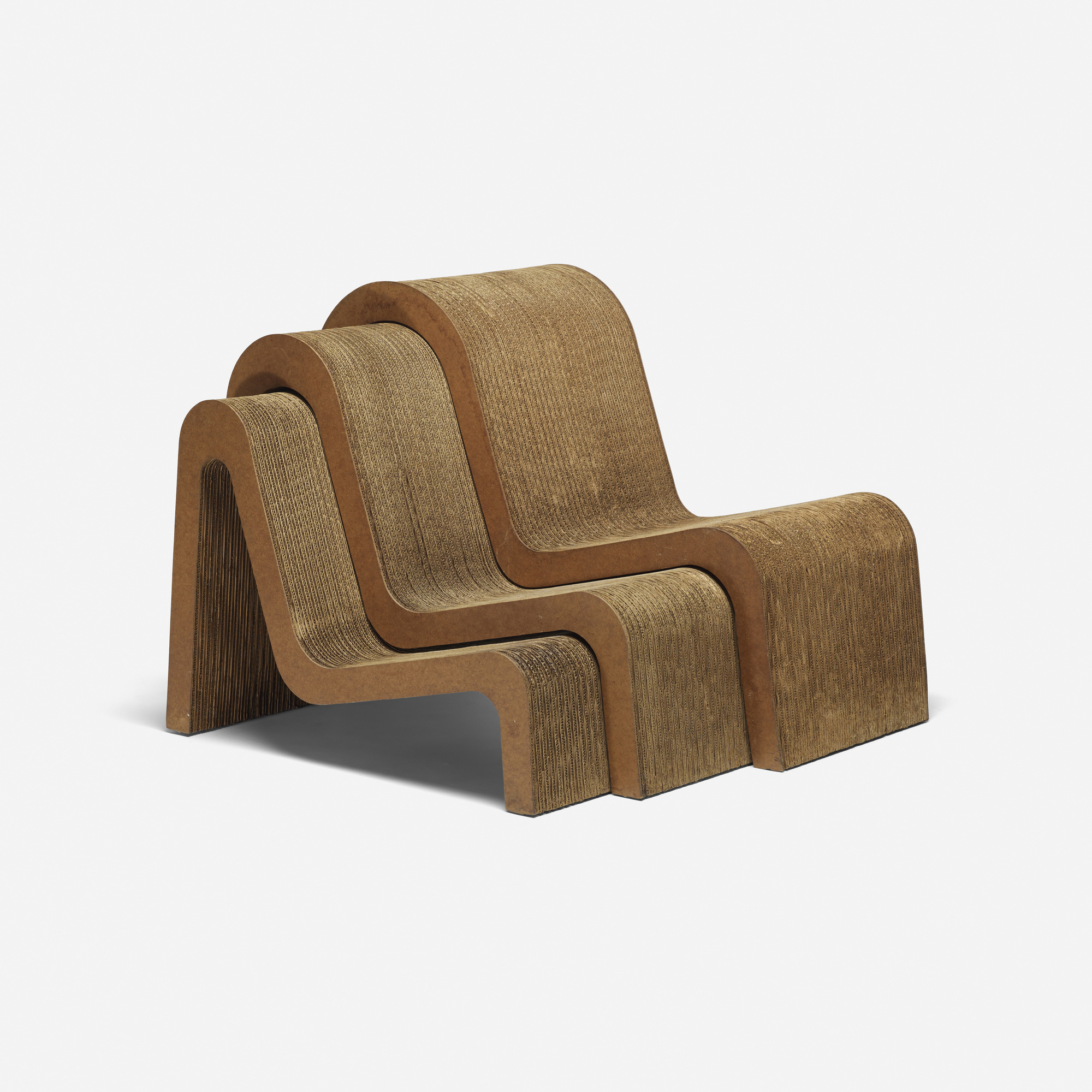 Frank Gehry Nesting Chairs Set Of Three Design - Frank gehry furniture