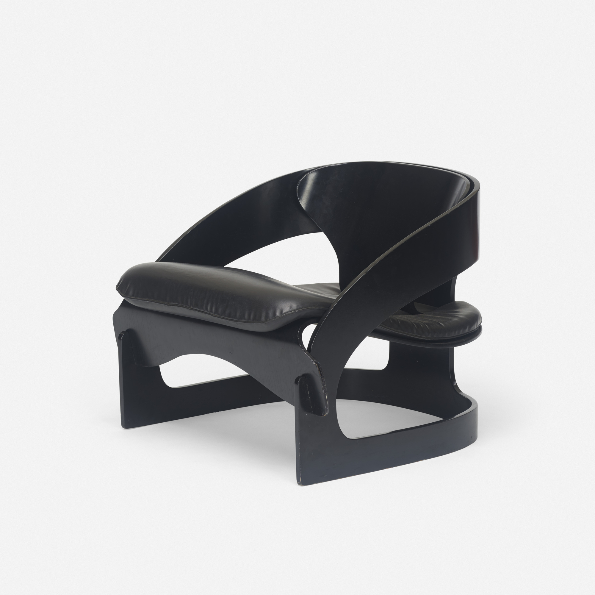 429: Joe Colombo / Small Armchair with Curved Elements (1 of 3)