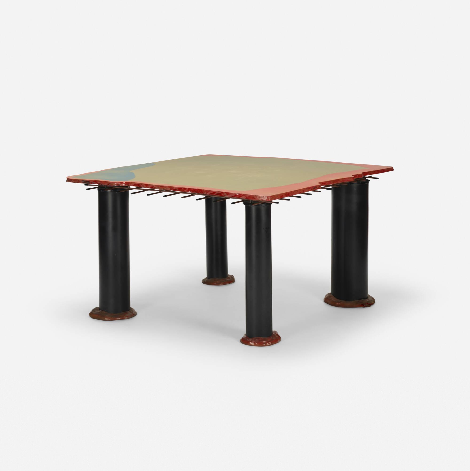 430: Gaetano Pesce / Sansone II dining table (1 of 3)
