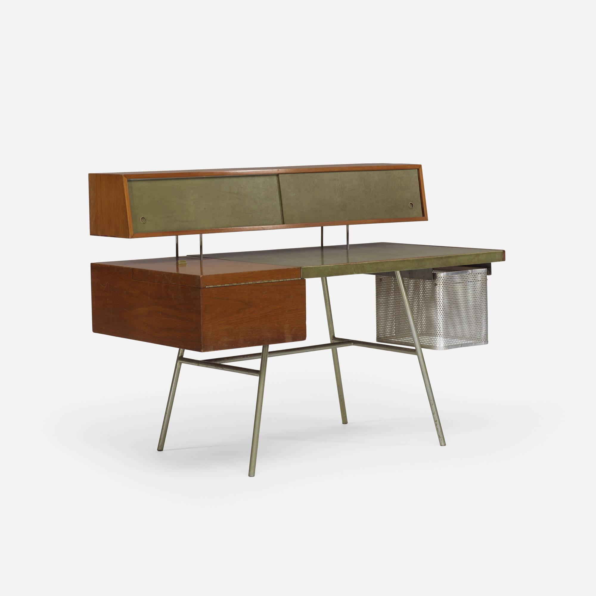 Bon ... 436: George Nelson U0026 Associates / Home Office Desk, Model 4658 (3 Of