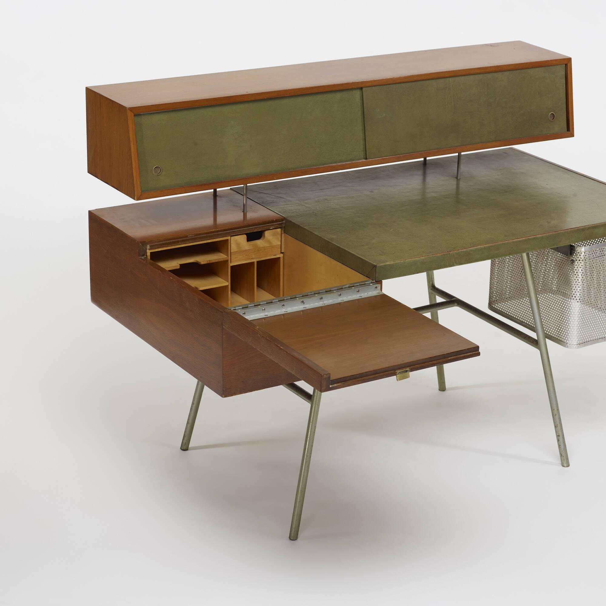 436 george nelson associates home office desk model 4658. Black Bedroom Furniture Sets. Home Design Ideas